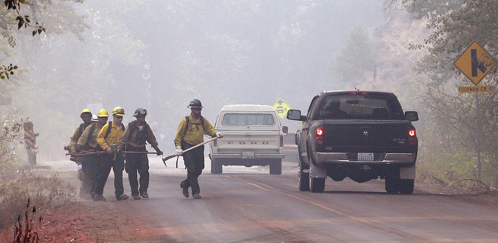 Photo: Washington Wildfire Aug 23 2015 (AP)