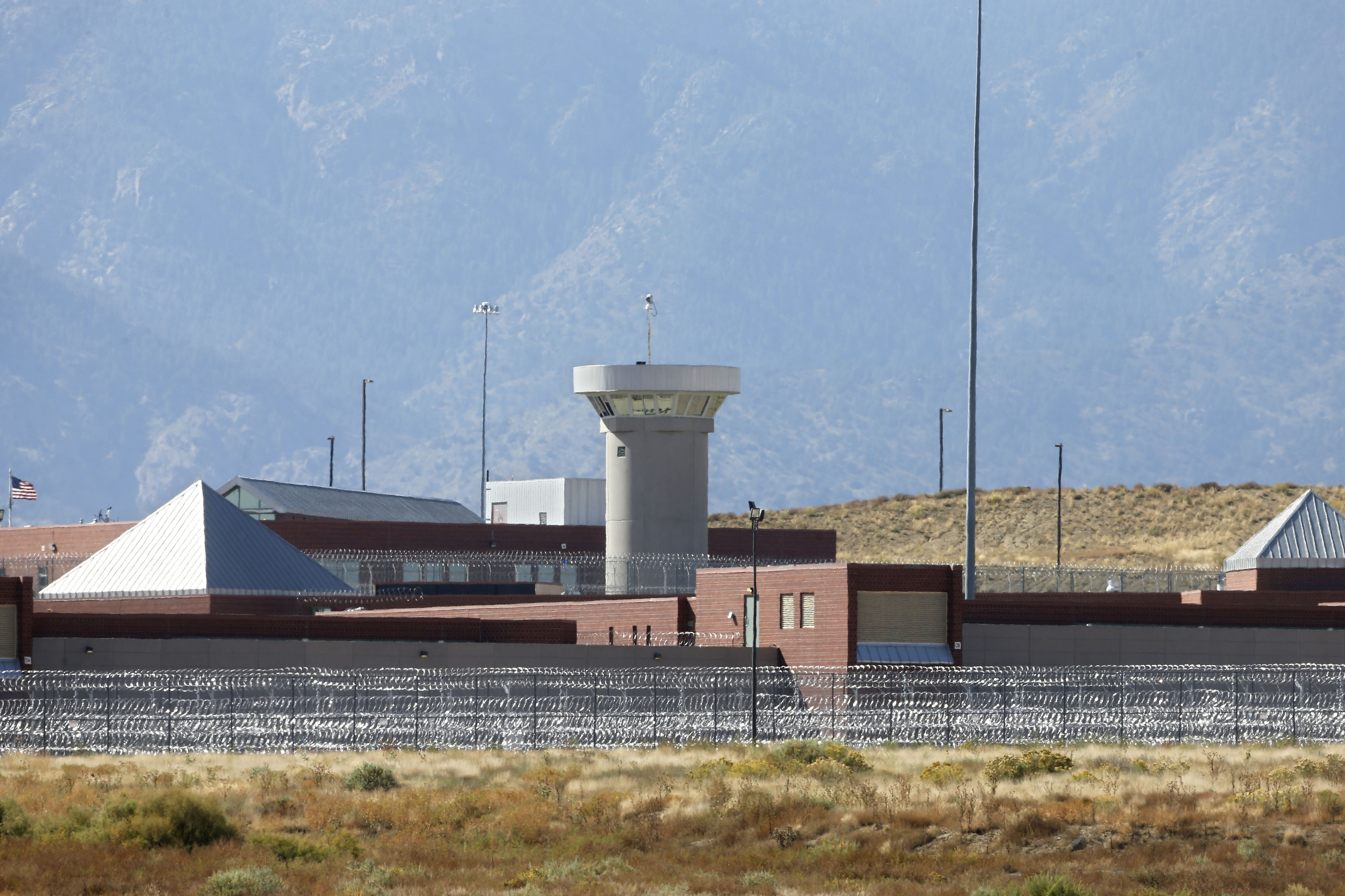 Photo: The Supermax facility outside Florence, in southern Colorado