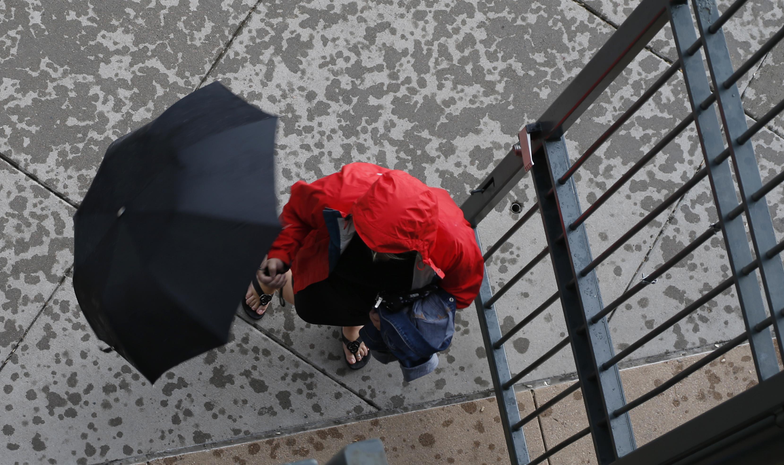 Photo: Denver Rain Storm Monsoon 2015 - AP Photo