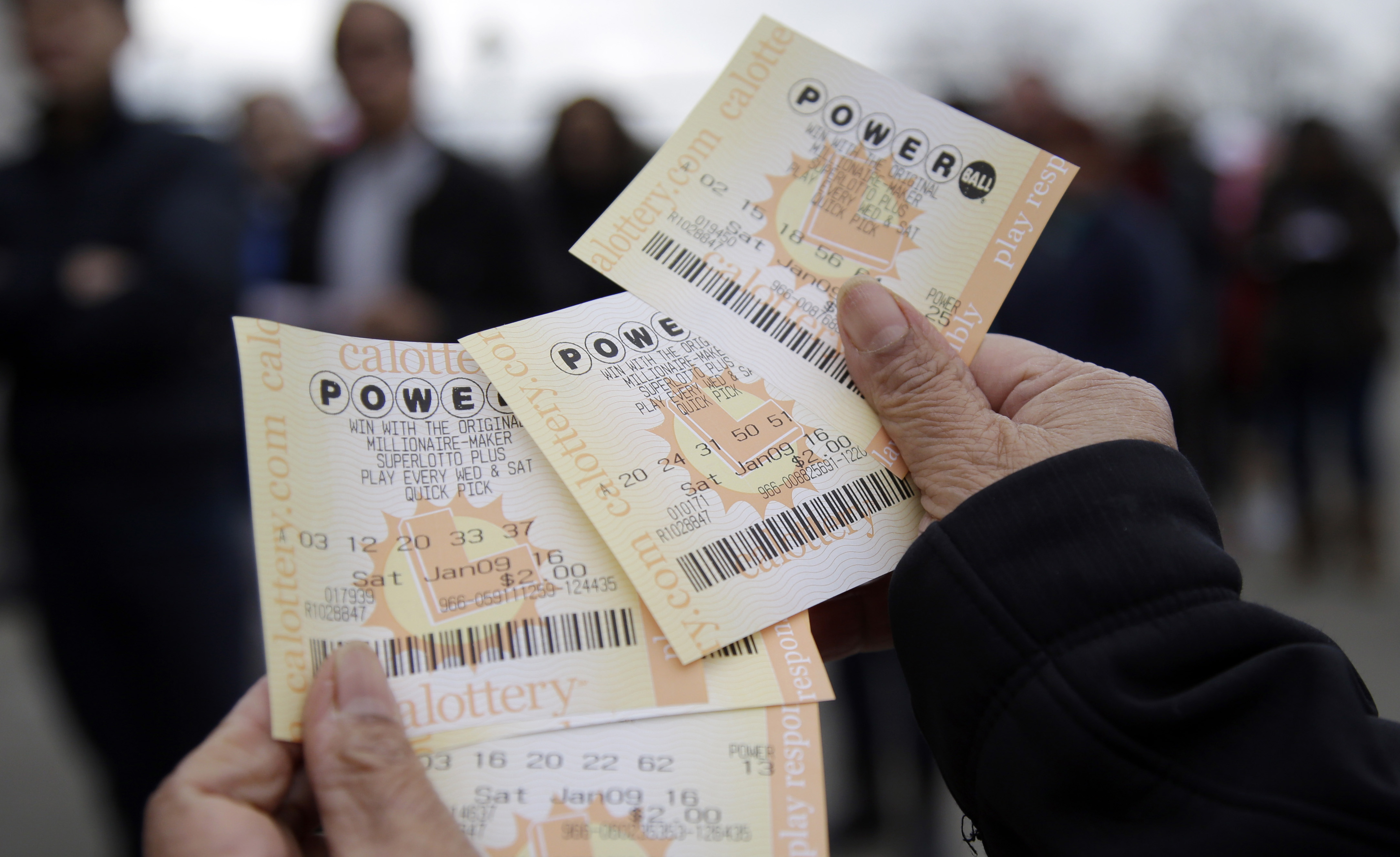 Photo: Powerball tickets (AP Photo)