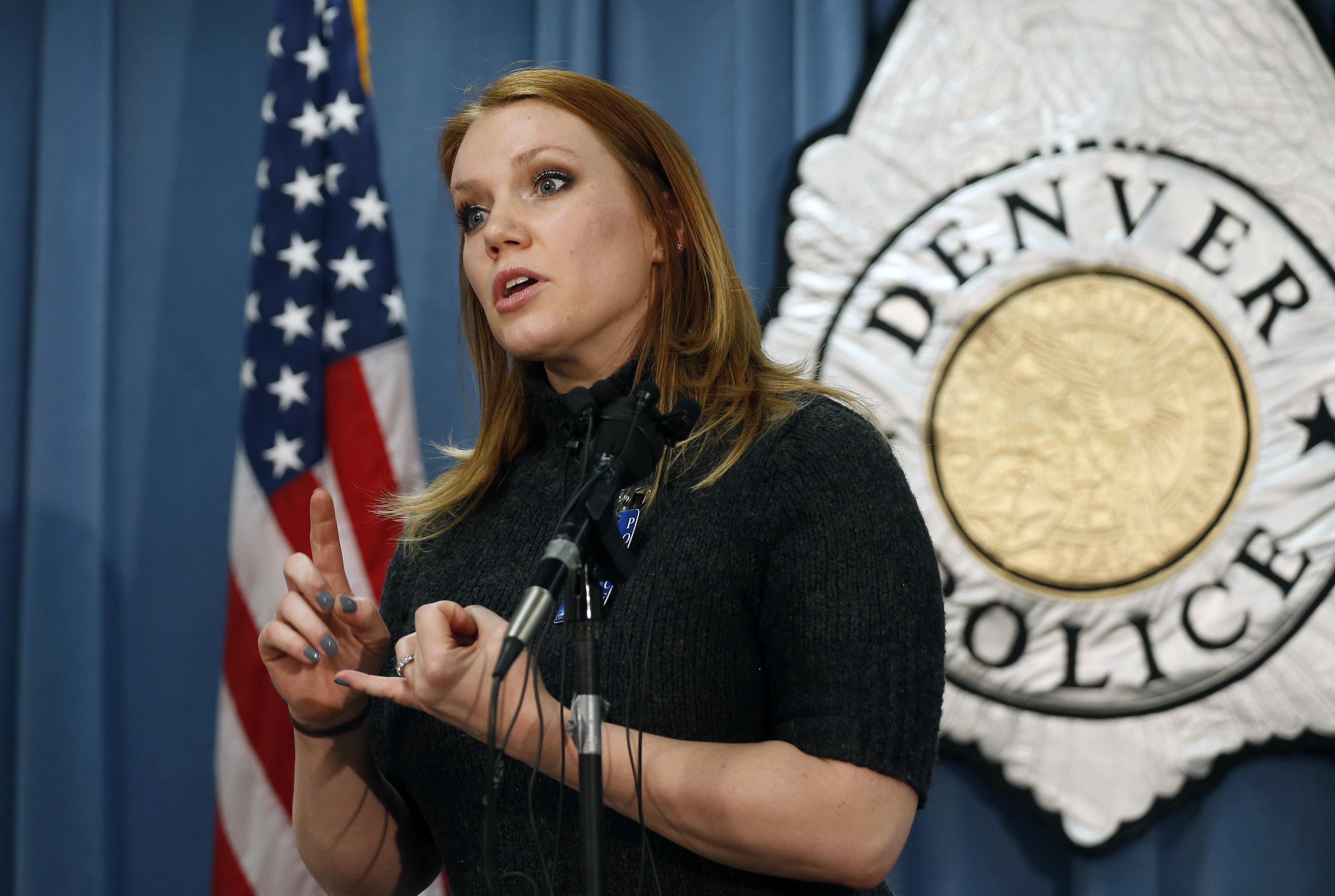 Photo: Denver police Cmdr. Magen Dodge (AP Photo)