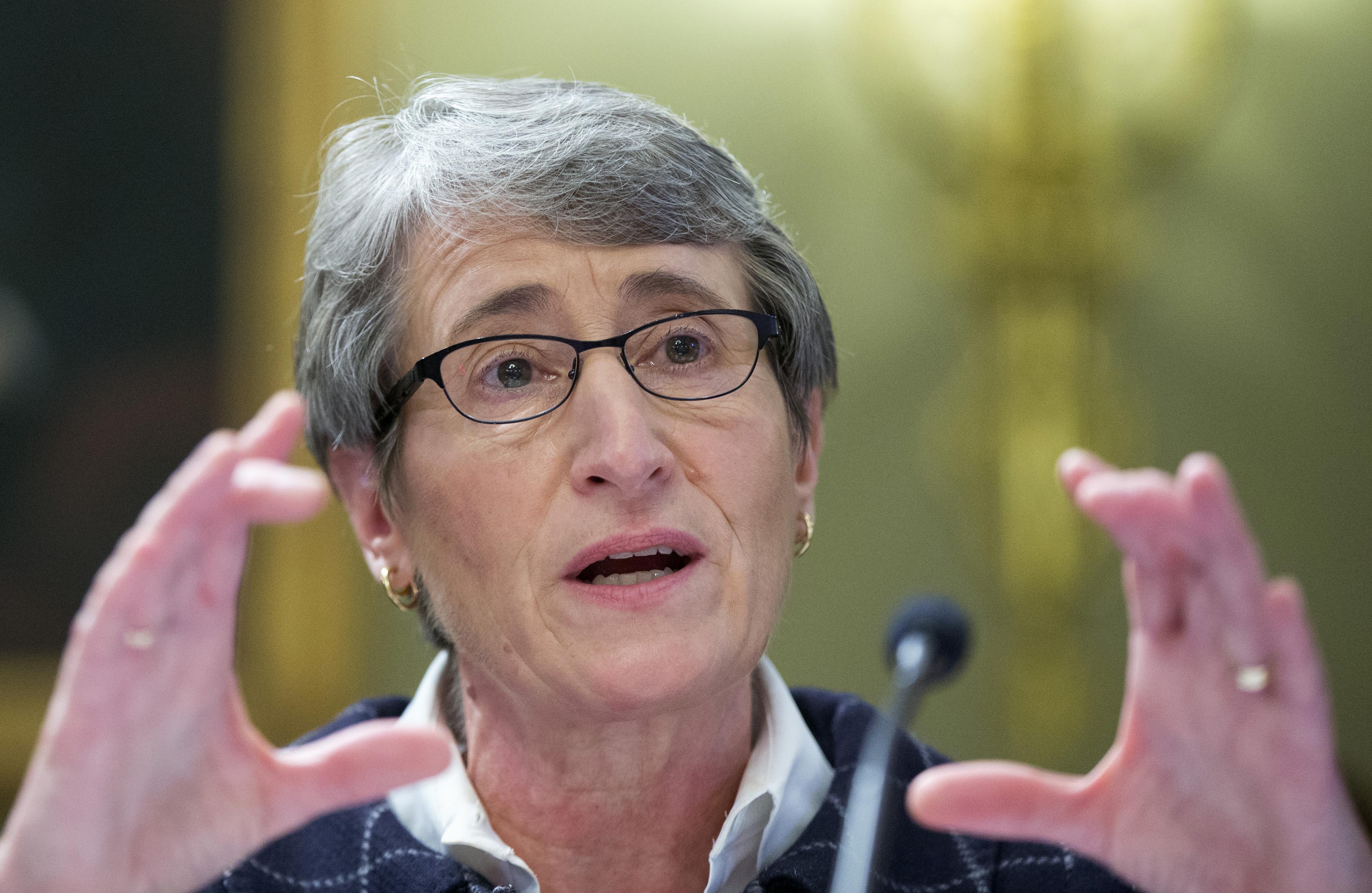 Photo: Interior Secretary Sally Jewell testifies on Capitol Hill