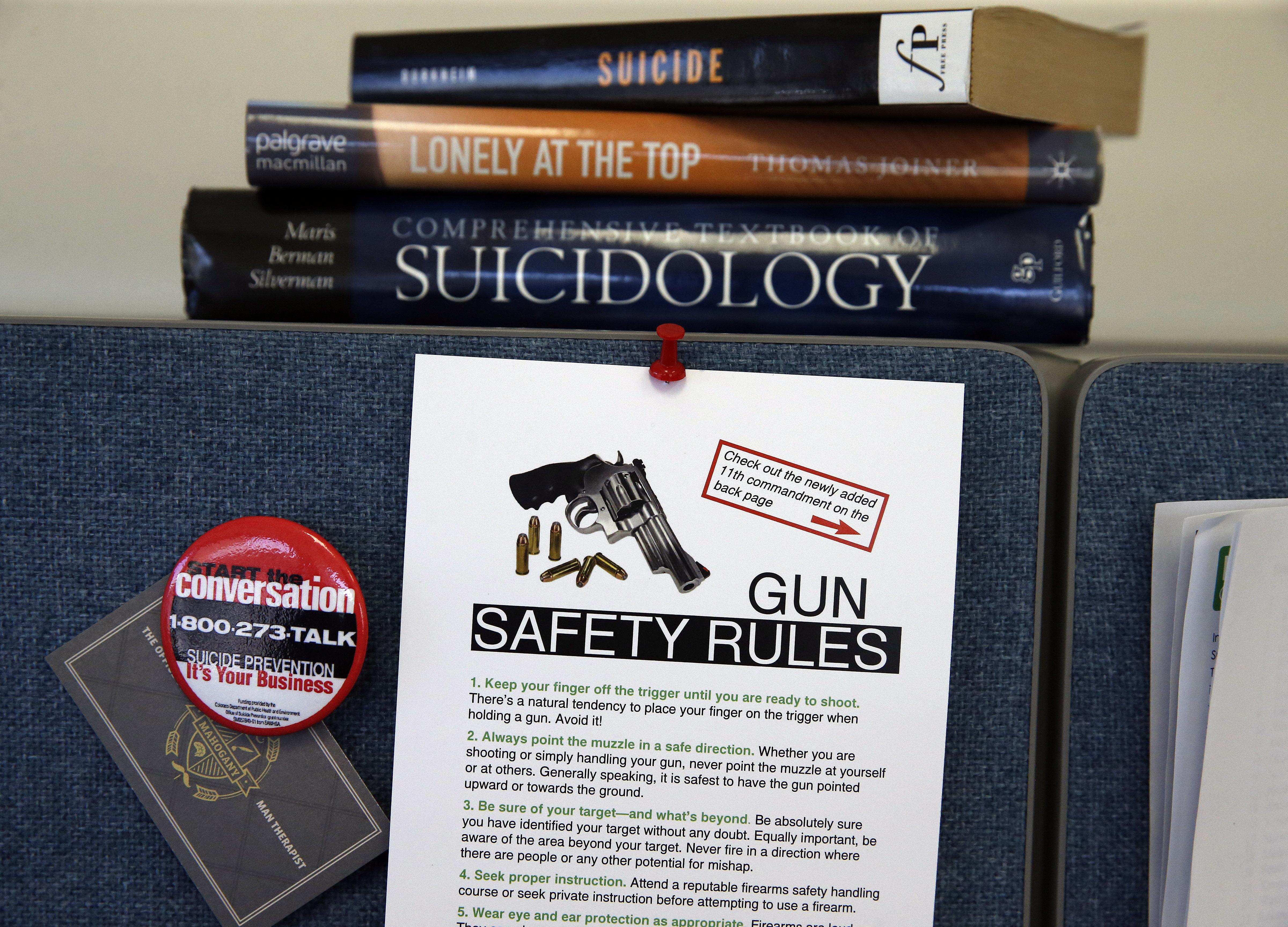 Photo: Colorado Suicide Prevention Office Gun Safety