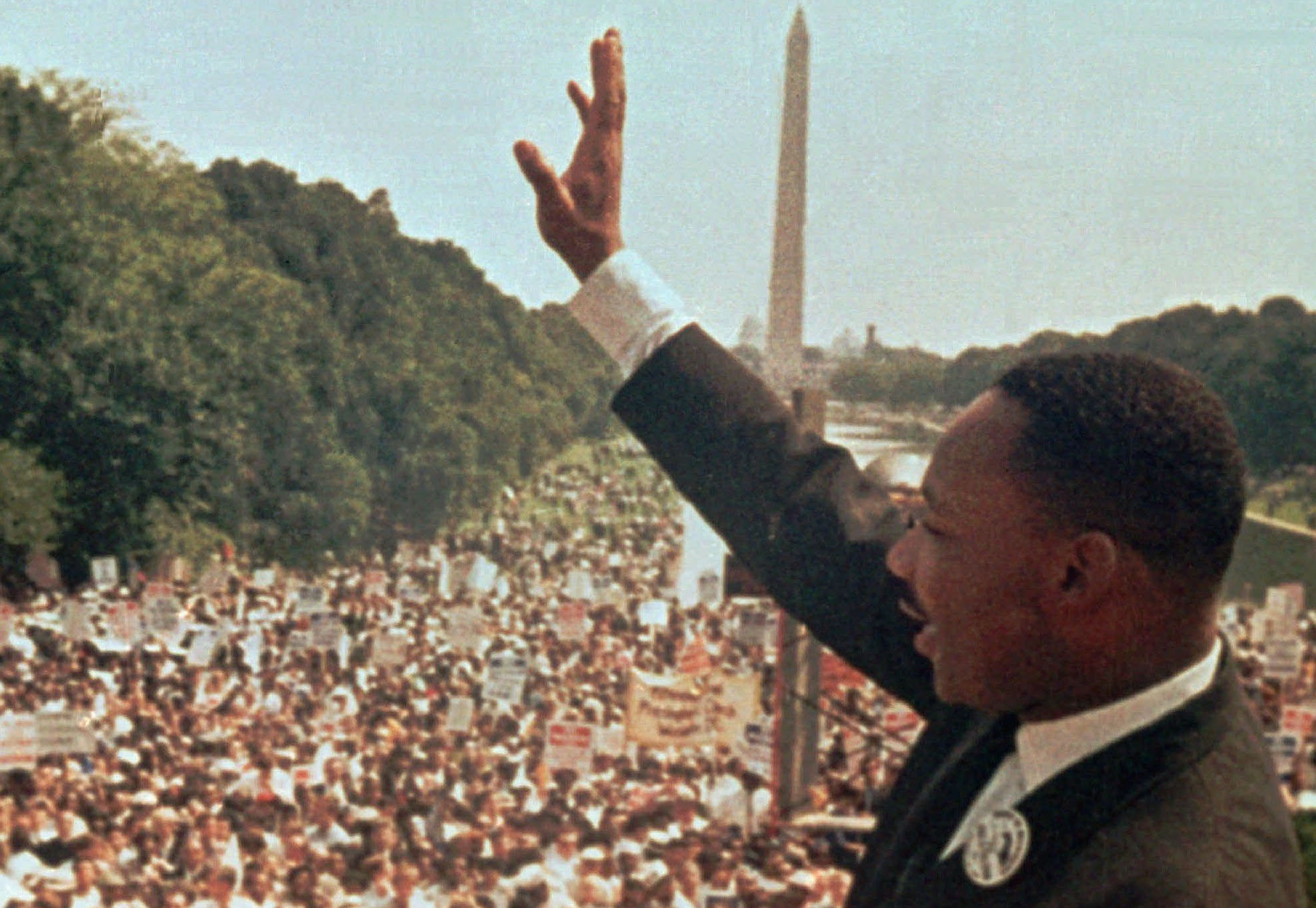 Photo: Martin Luther King, I Have A Dream, Lincoln Memorial (AP File)