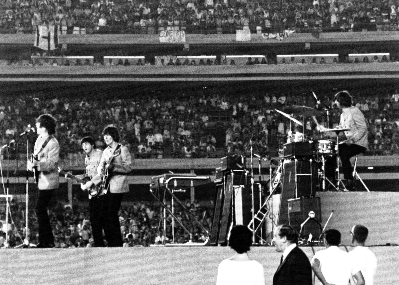 Photo: Beatles At Shea Stadium