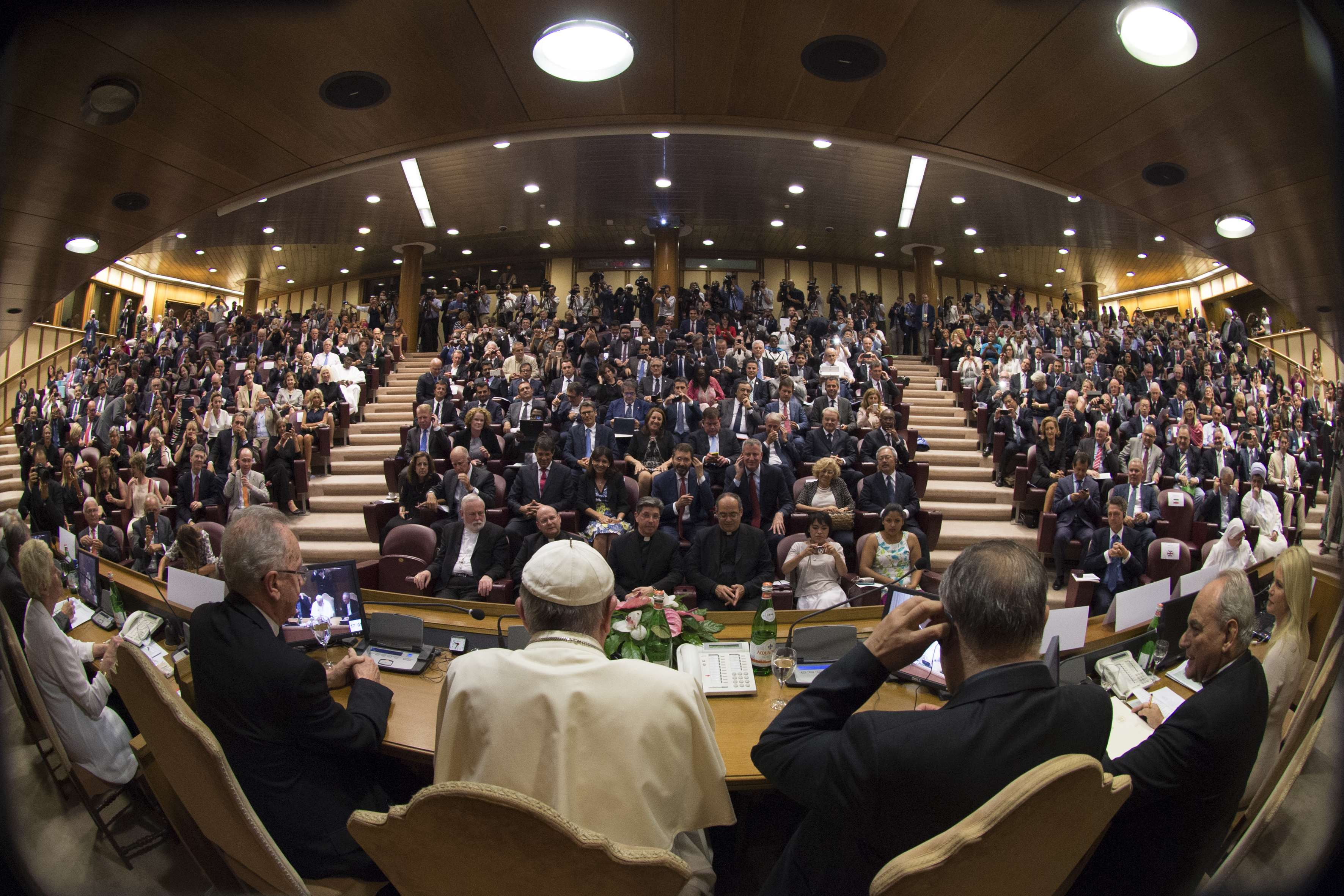 Photo: Pope Leads Climate Change Gathering
