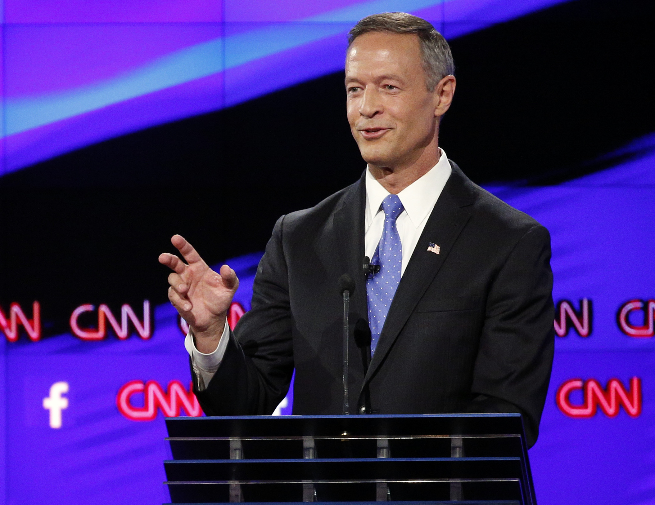 Photo: Former Maryland Gov. Martin O'Malley (AP Photo)