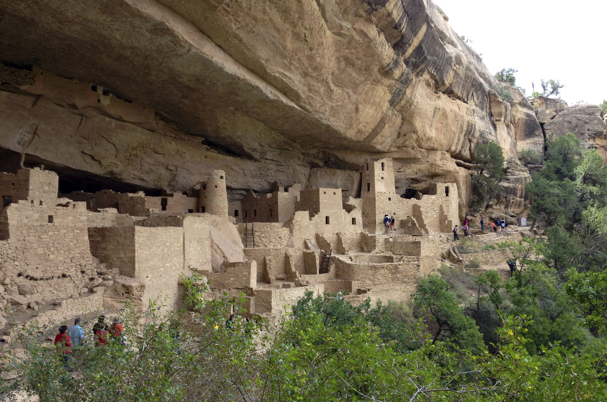 Photo: Mesa Verde National Park in Cortez (AP Photo)