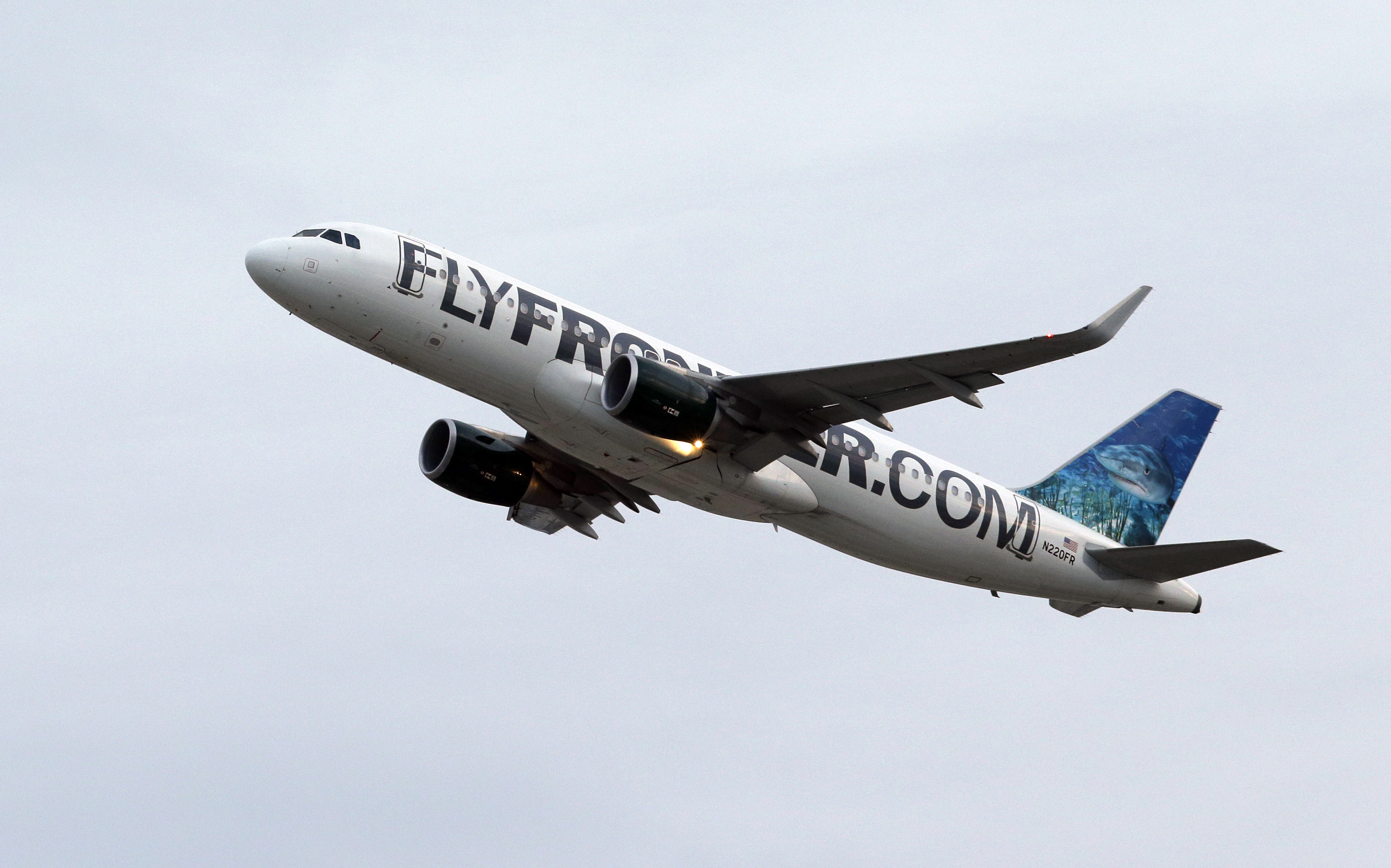 Photo: Frontier Airlines airplane (AP Photo)