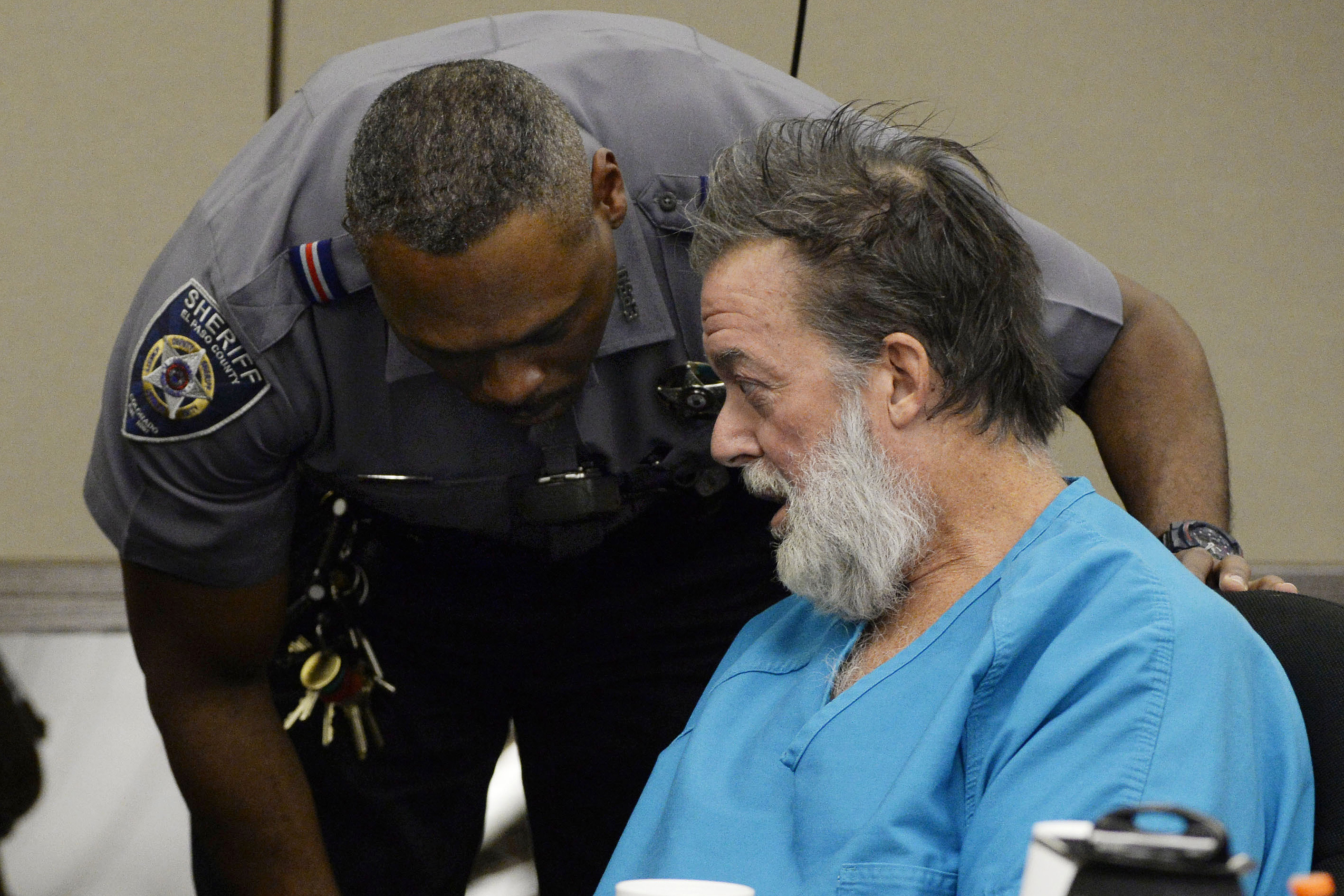 Photo: Robert Dear In Court (AP/FileDec. 9, 2015)