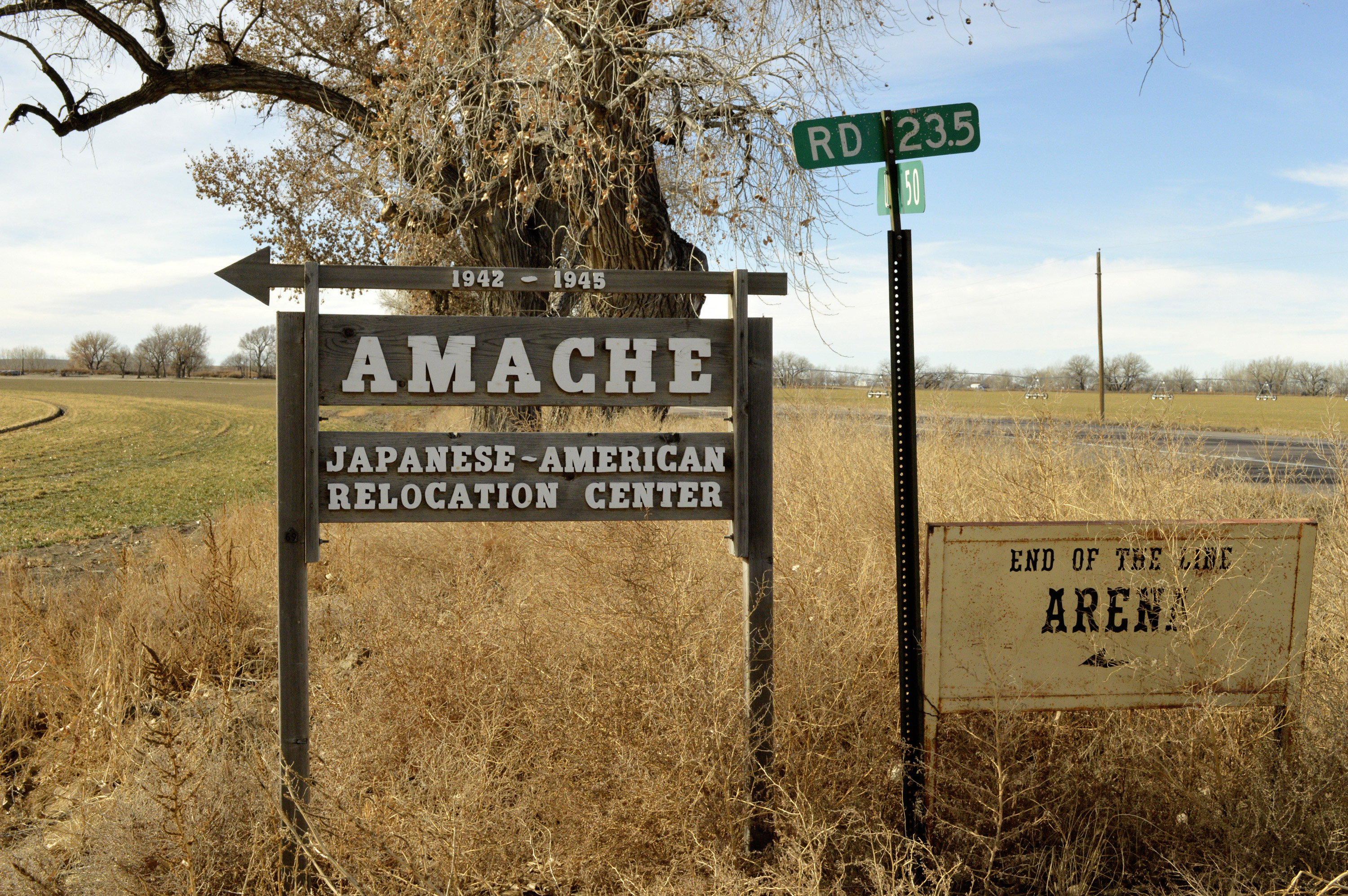 Photo: Camp Amache Present Day 1 - AP Photo