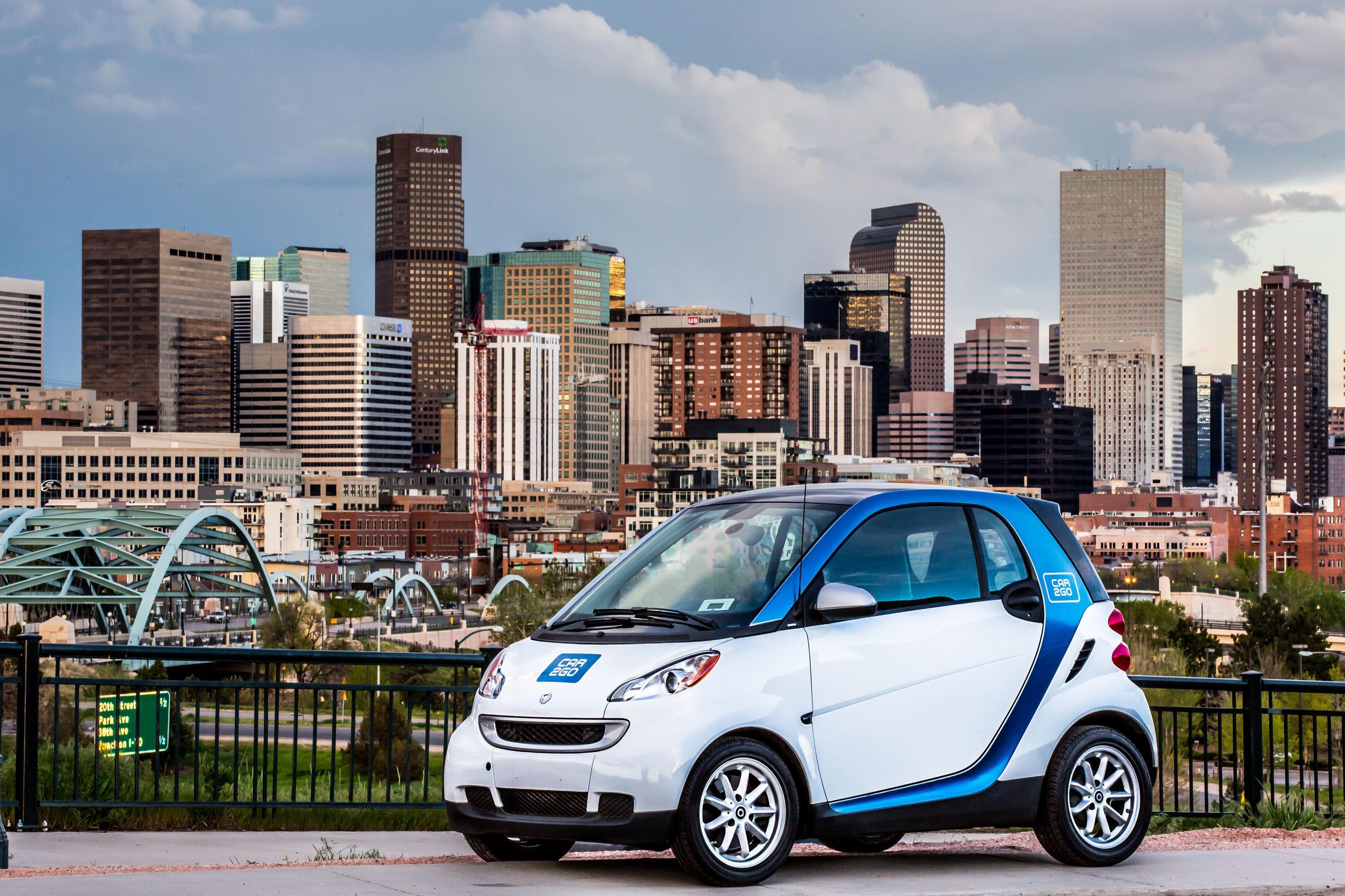 Photo: Car2go in Denver