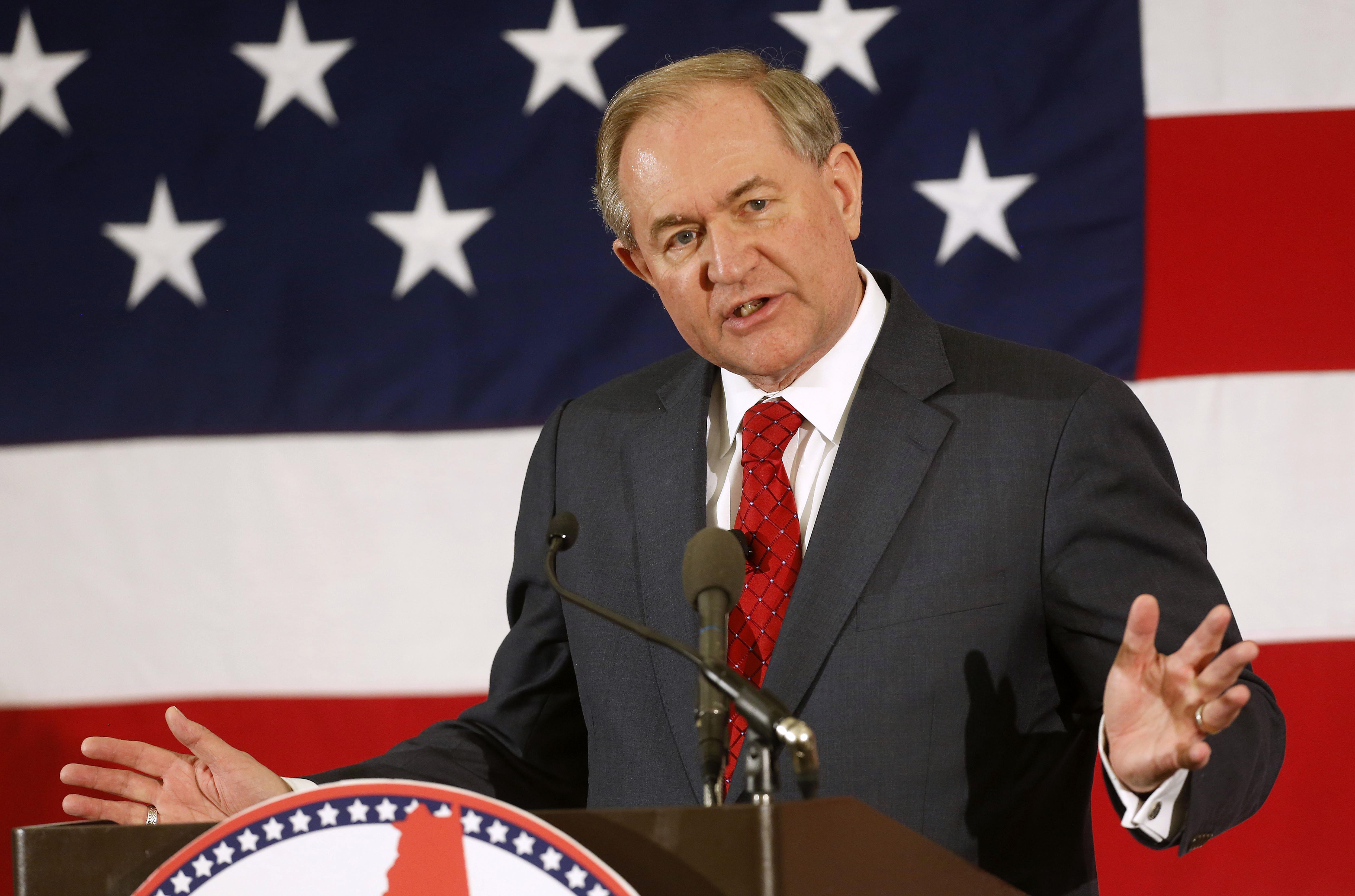 Photo: Former Virginia Gov. Jim Gilmore (AP Image/File)