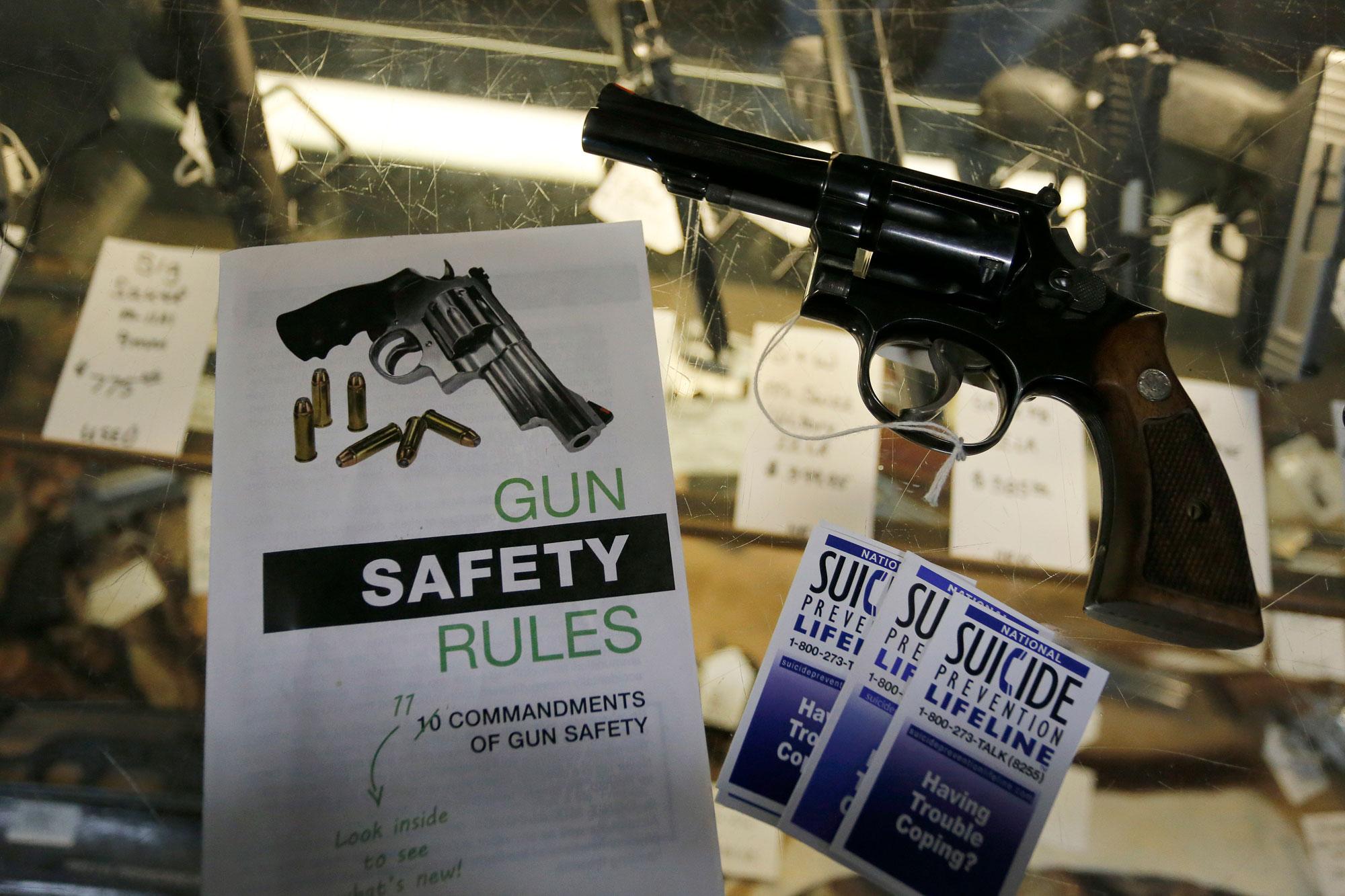 Photo: Montrose Gun Store Safety Brochure