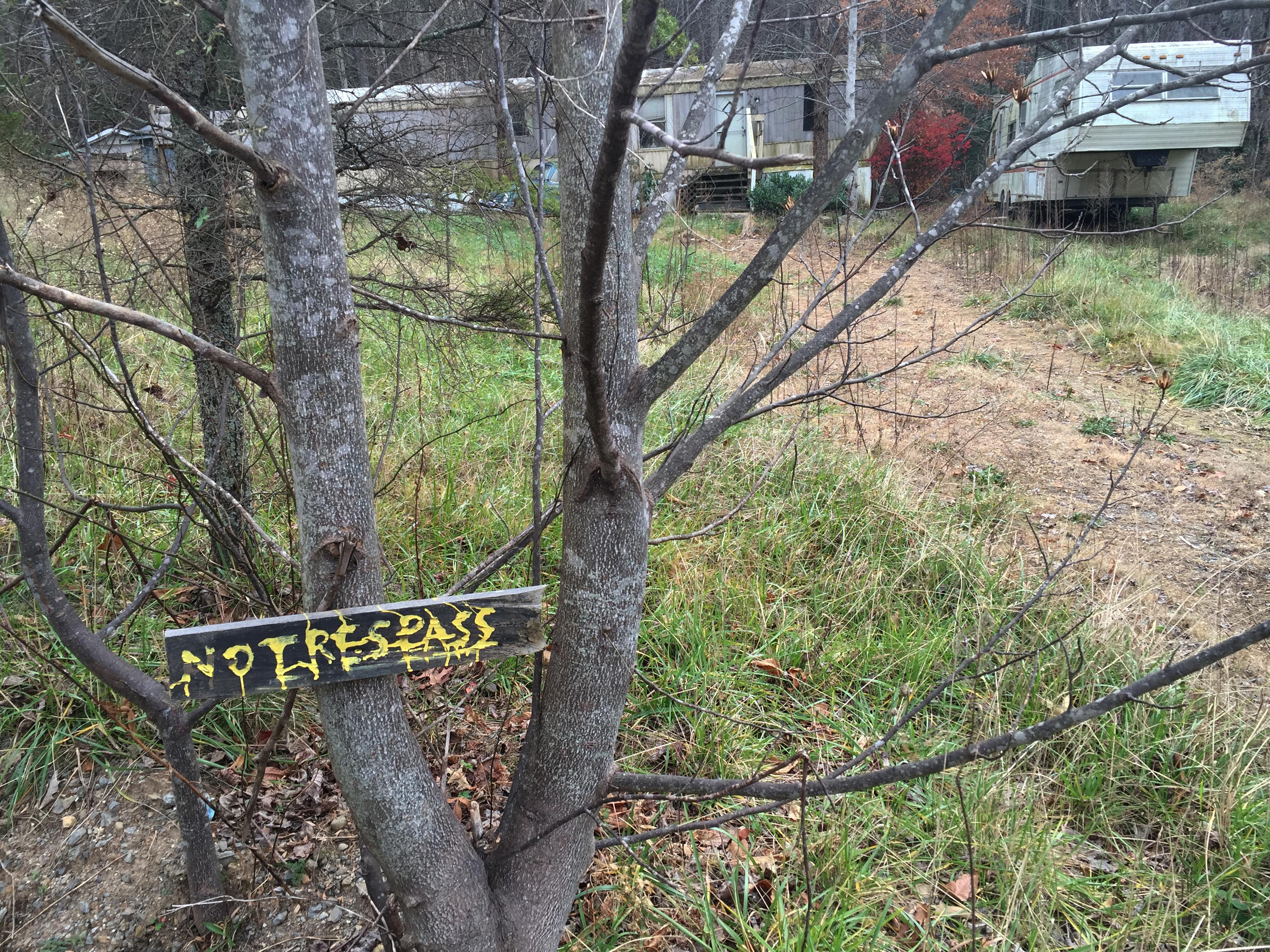 Photo: Robert Dear North Carolina trailer (AP Photo)