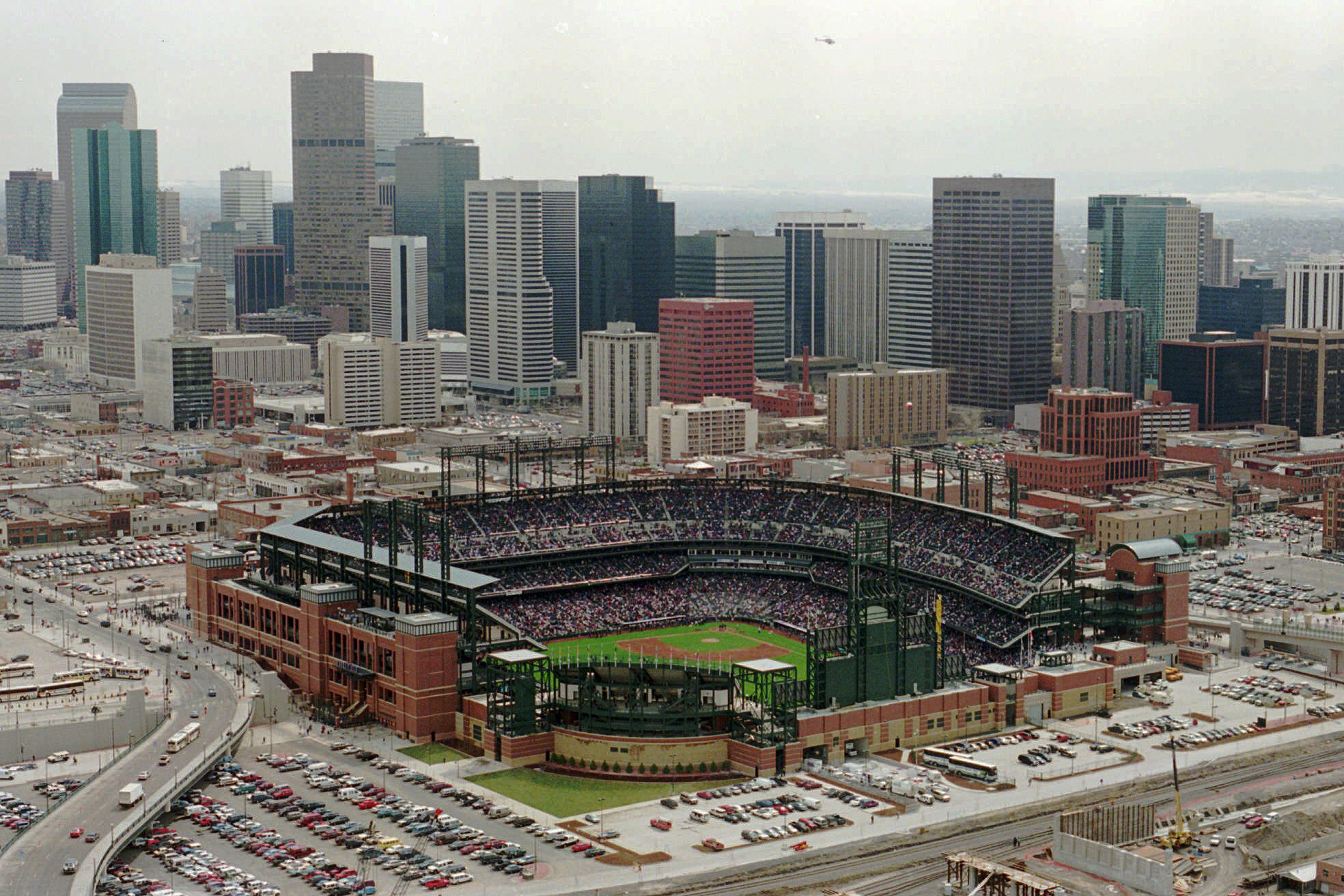 Photo: Coors Field Opens March 1995