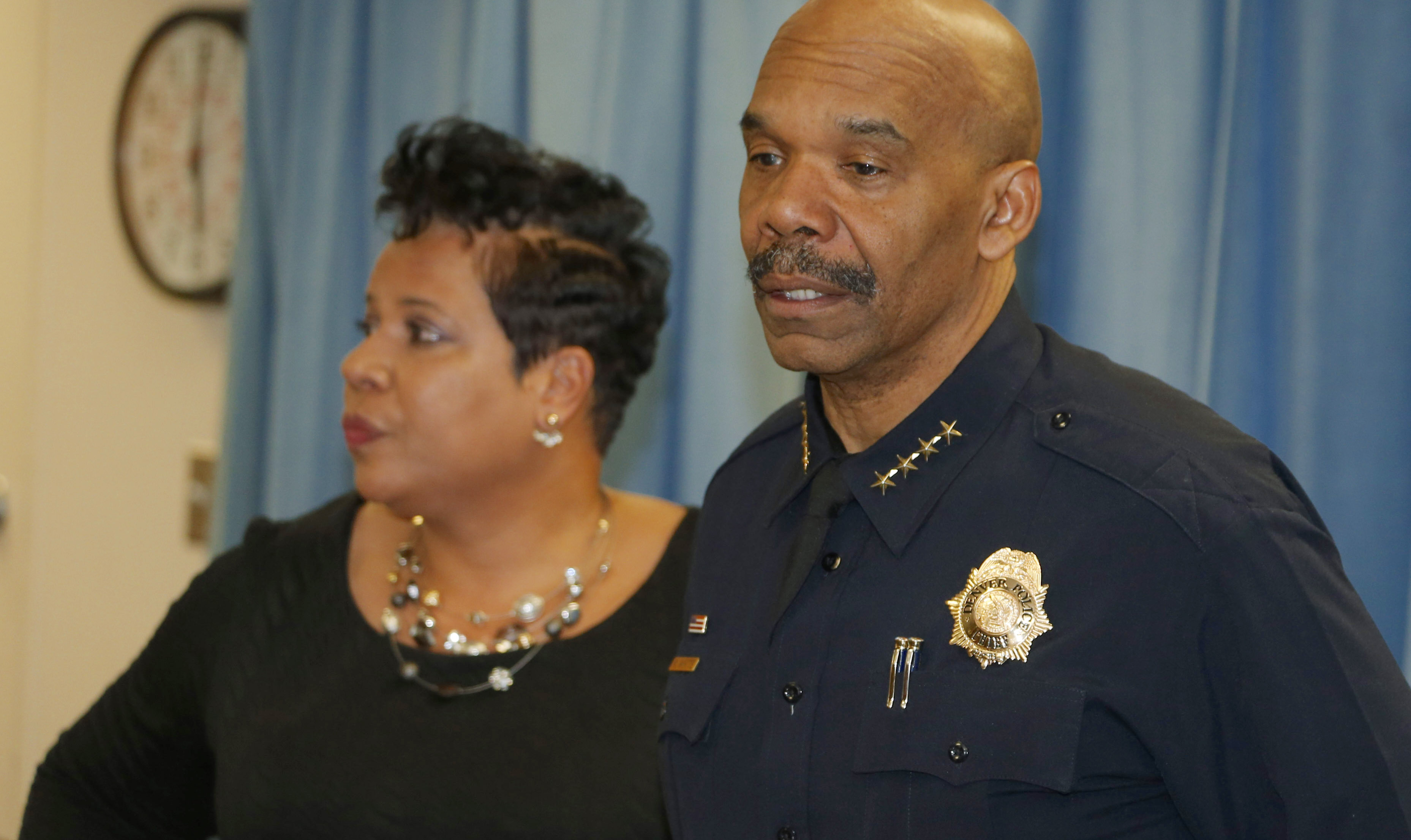 Photo: Denver Police Chief Robert White, Colliseum Shooting Presser