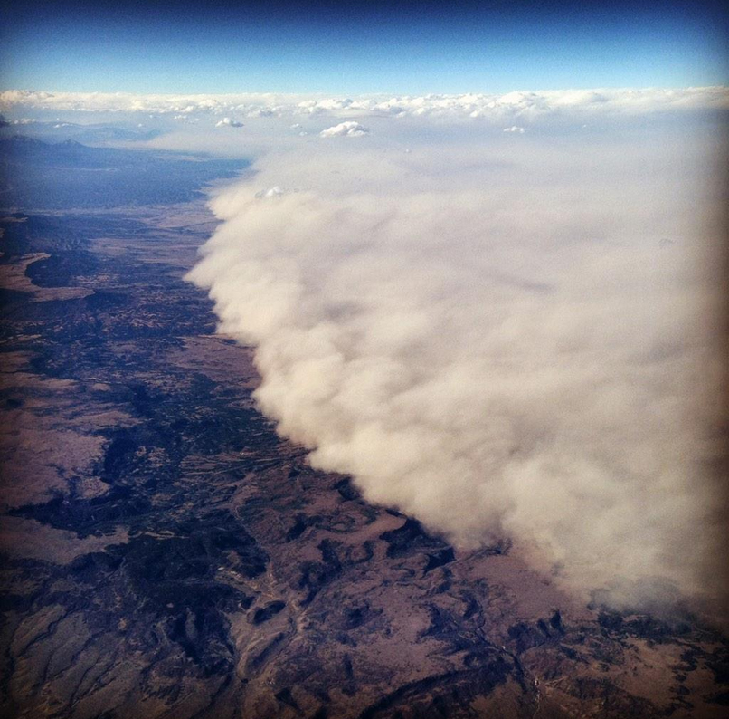 Photo: Arctic Haboob aerial