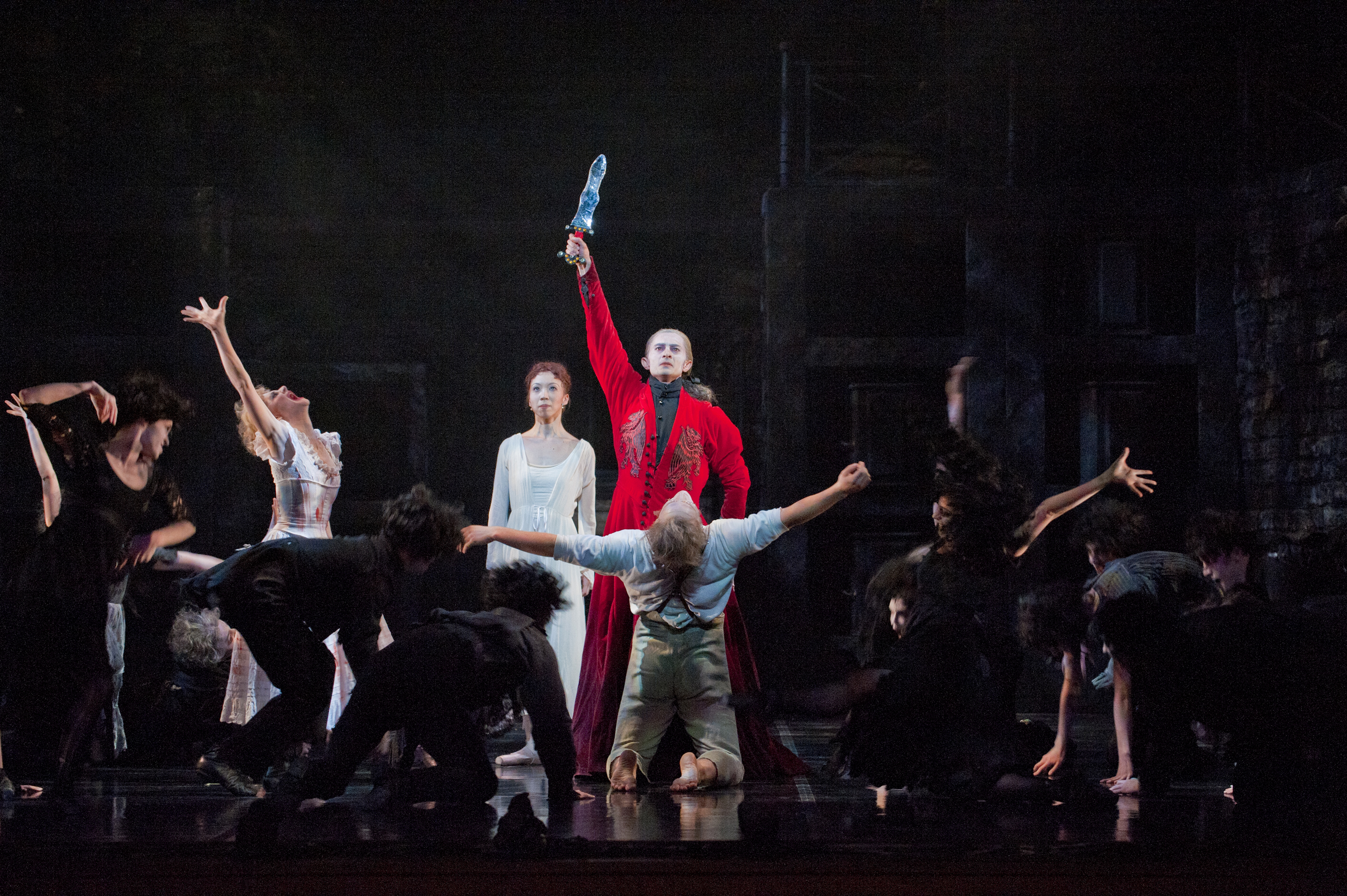 Photo: Dmitry Trubchanov of Colorado Ballet as Dracula