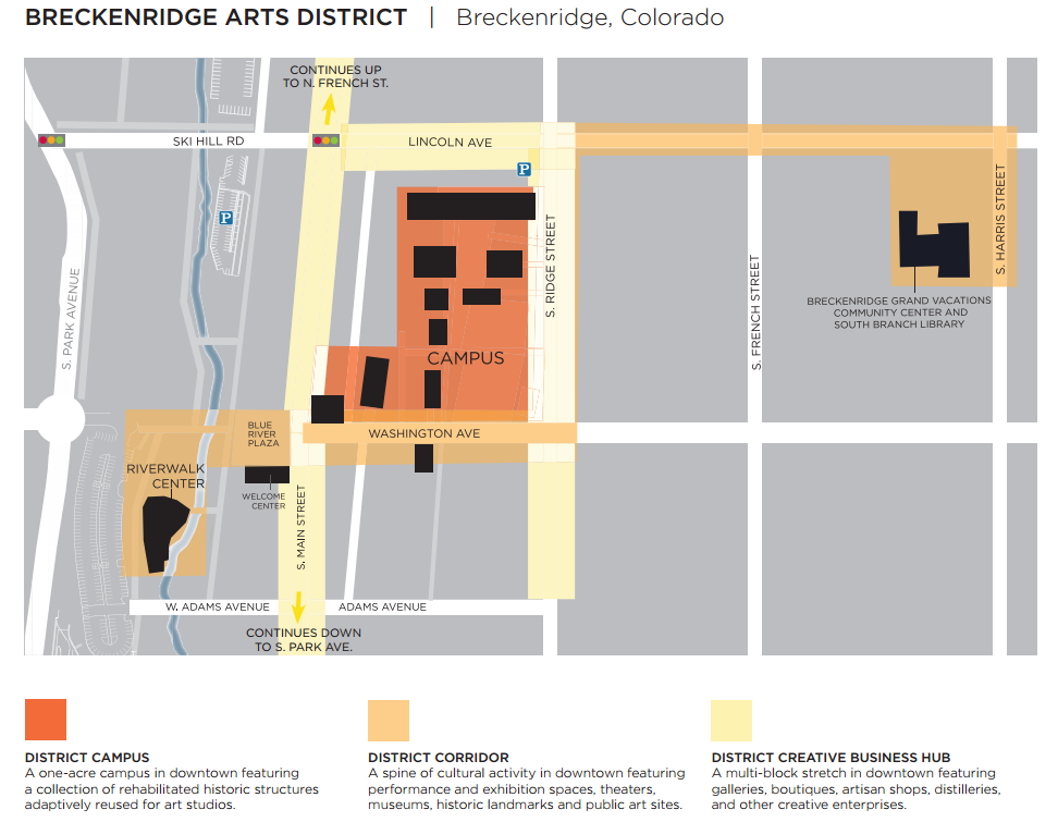 Photo: Arts District Map