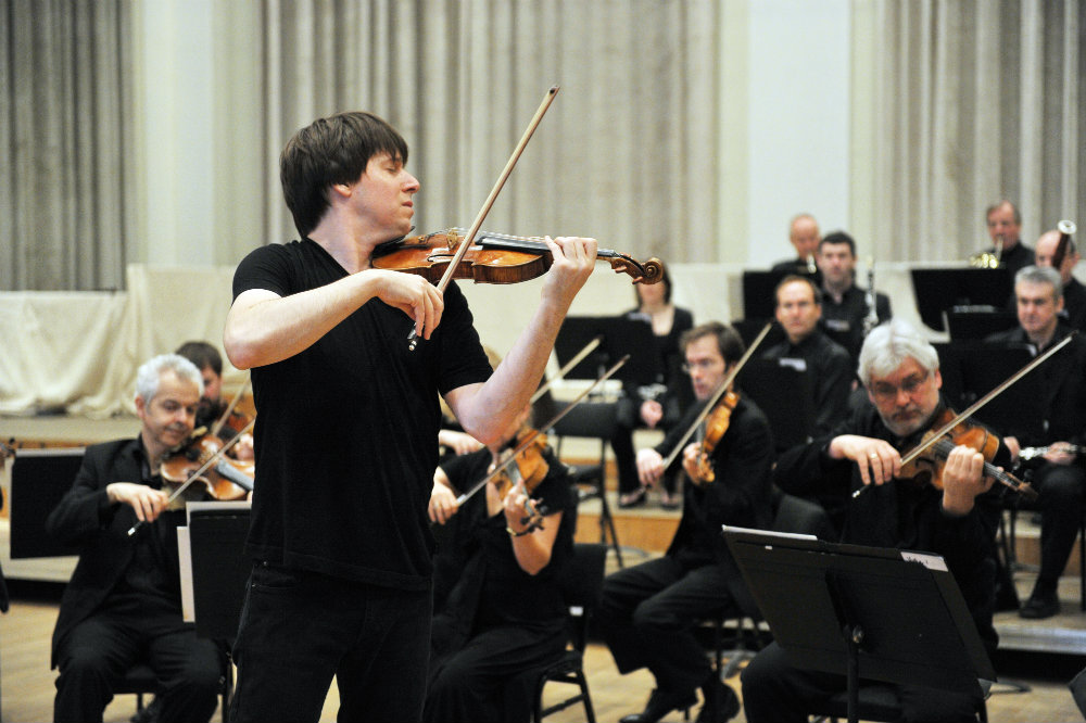 Image: Joshua Bell with ASMF