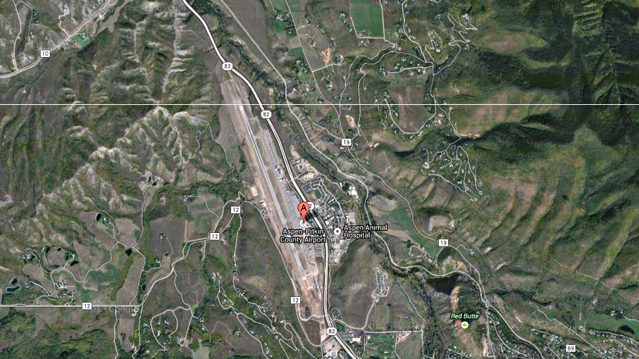 Photo: Aspen-Pitkin Airport Map