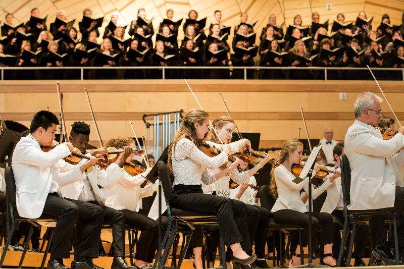 Photo: Aspen Music Festival orchestra