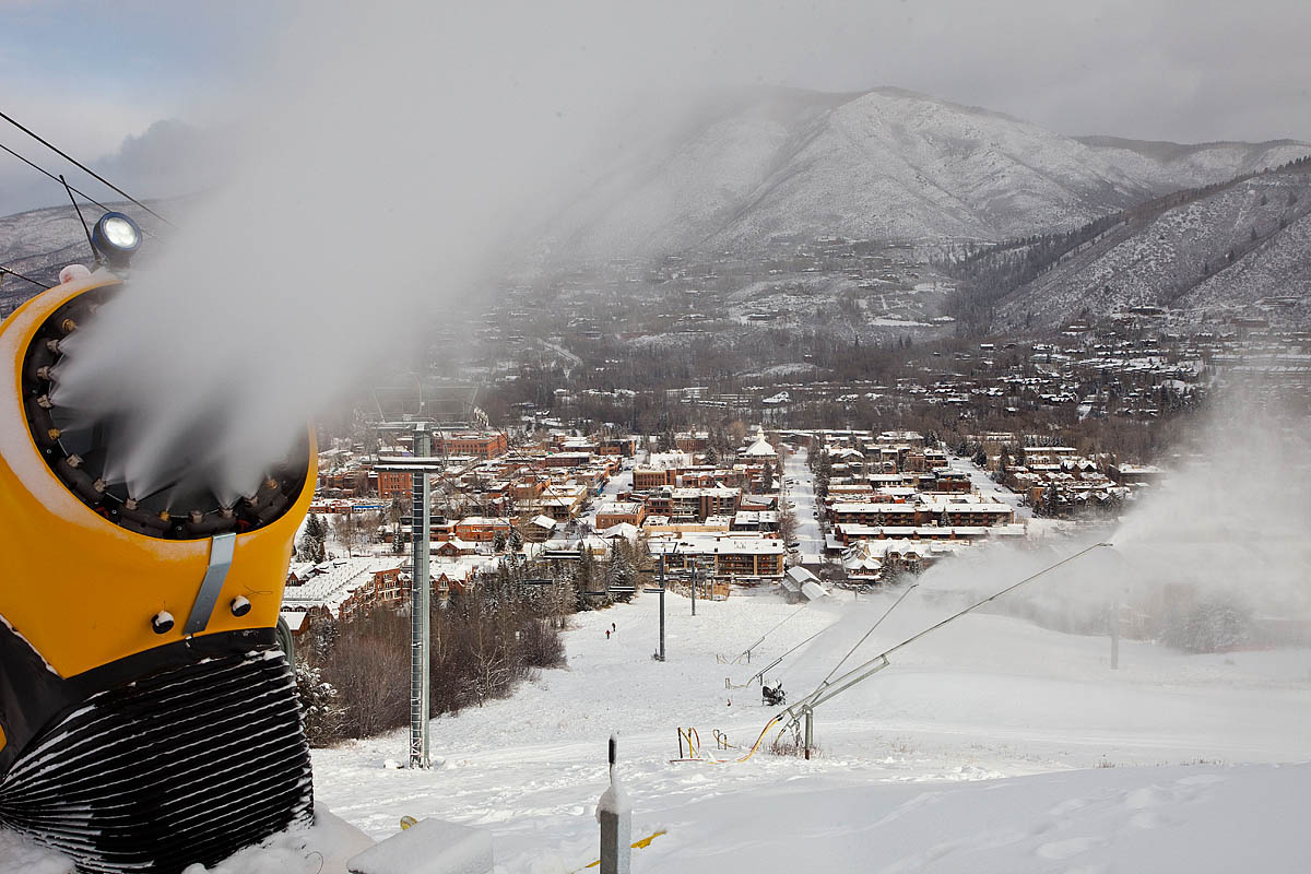 Photo: Making Snow On Aspen Mountain (Flickr/CC)