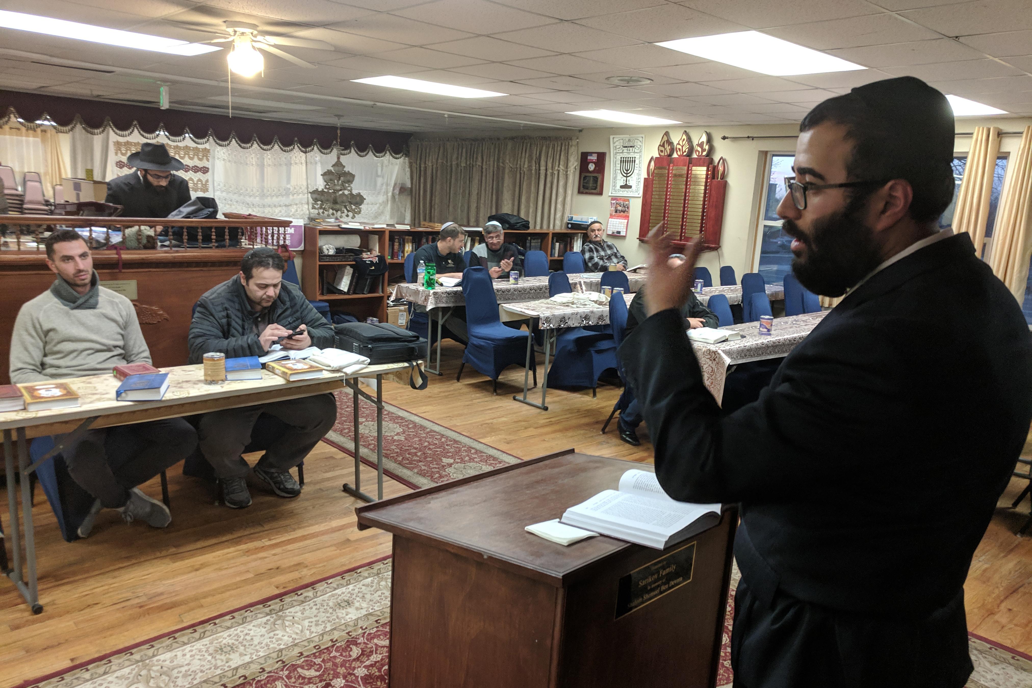 Photo: Aurora Eruv 4 Rabbi David Araiev | SB