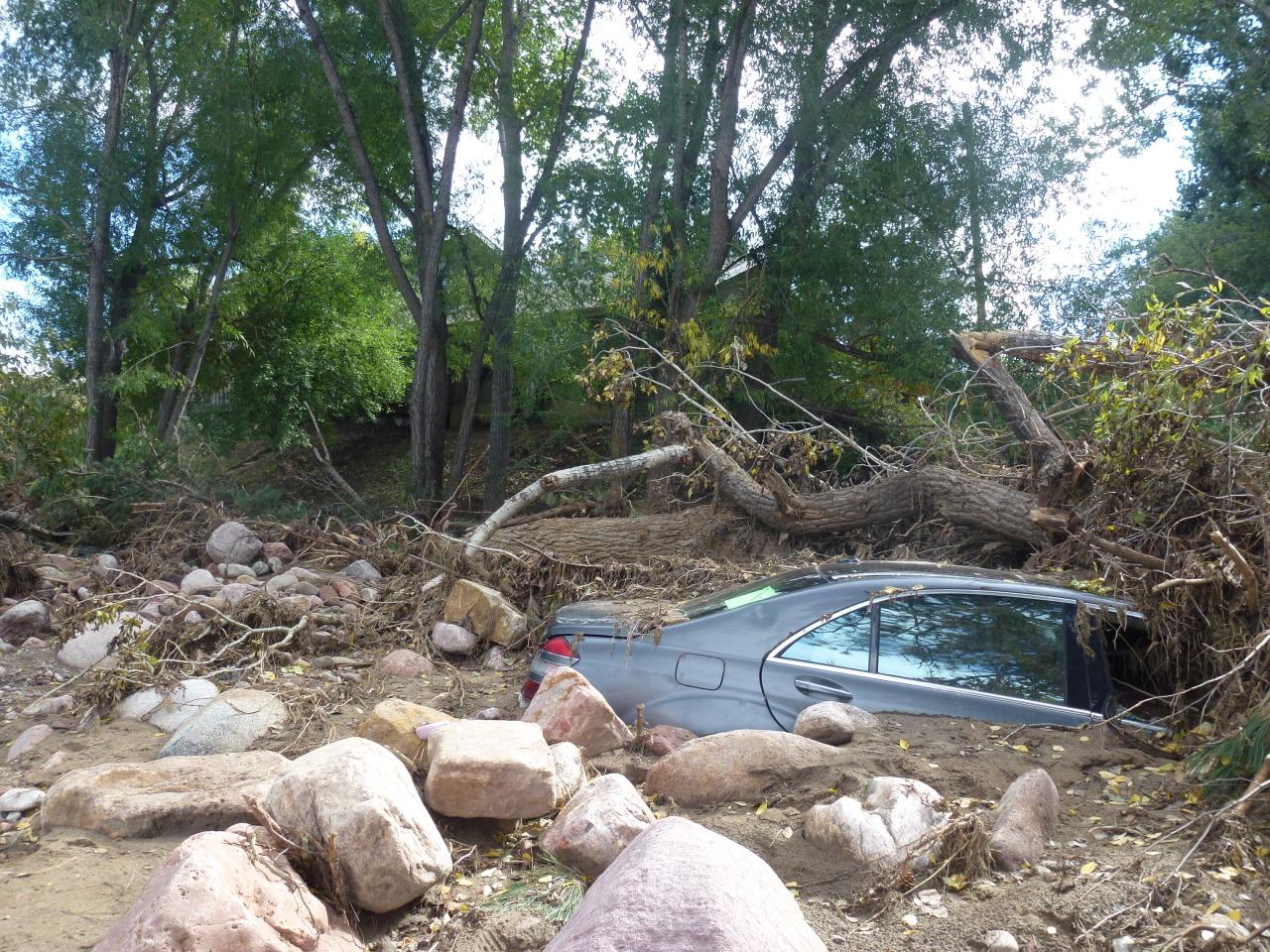 PHOTO: Left Hand Creek Flood Recovery