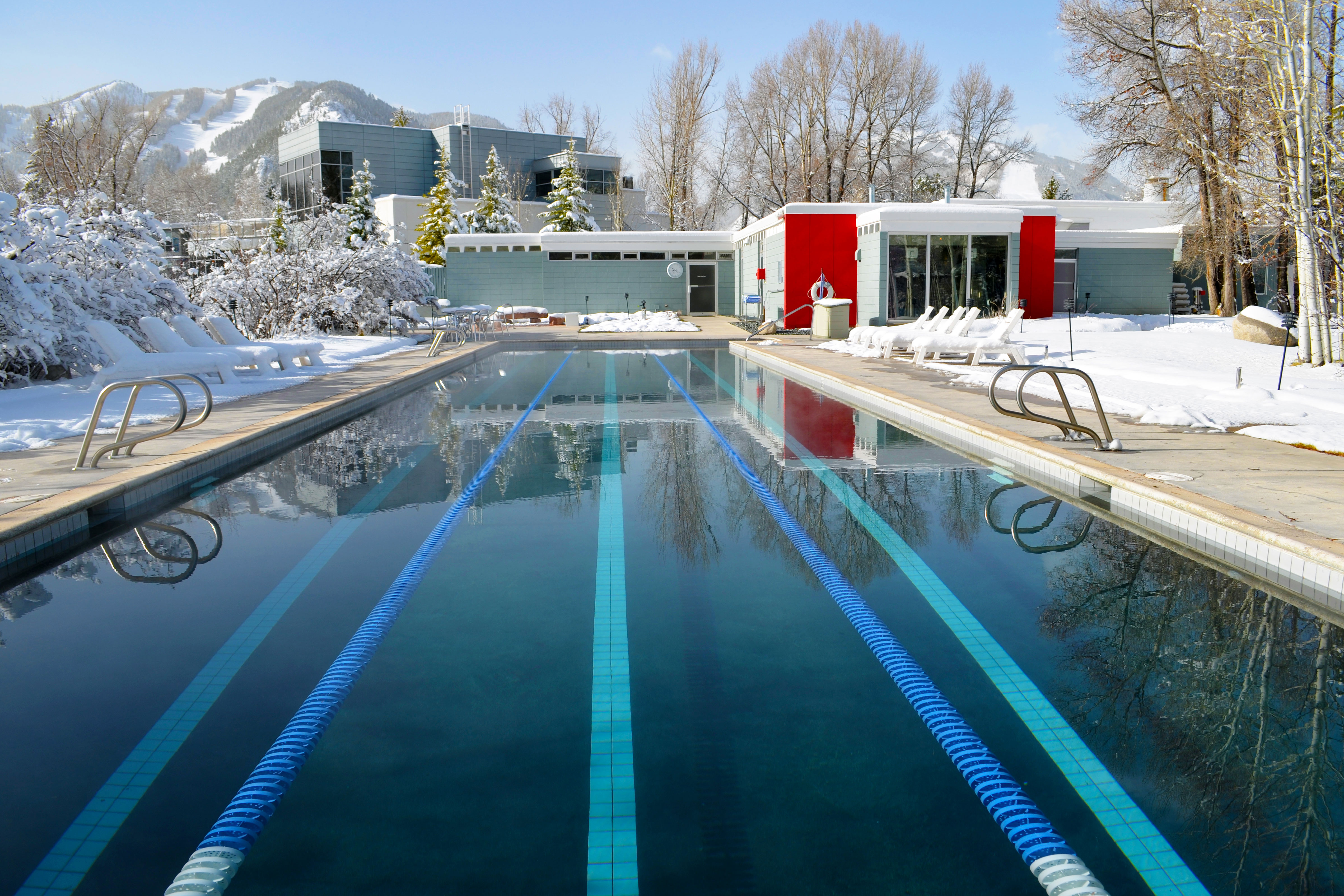 Photo: Bauhaus 00 | Aspen Meadows Resort Pool - Courtesy