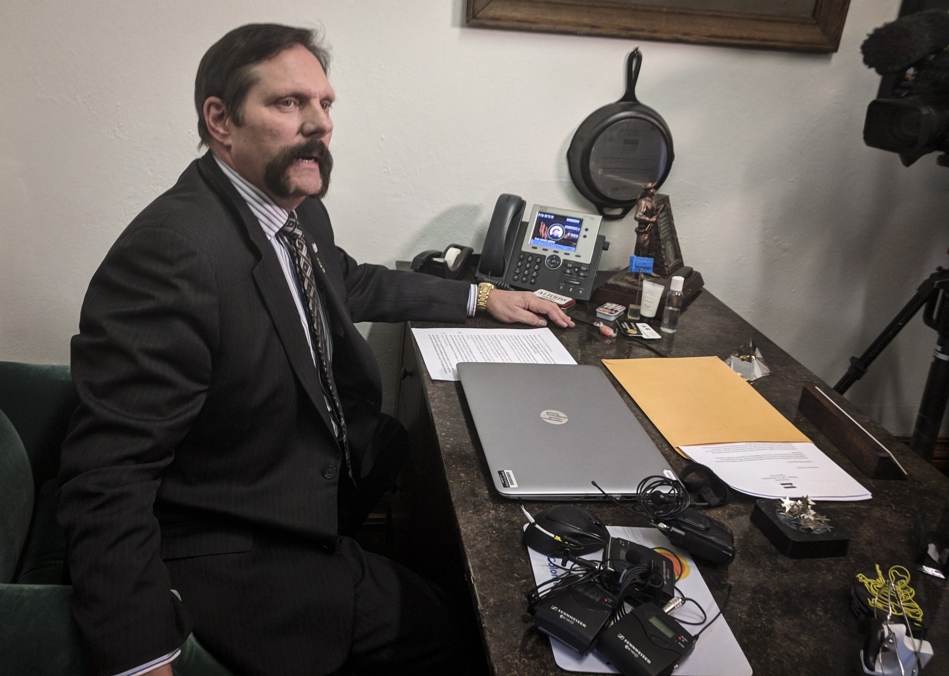 Photo: Sen. Randy Baumgardner (Staff)