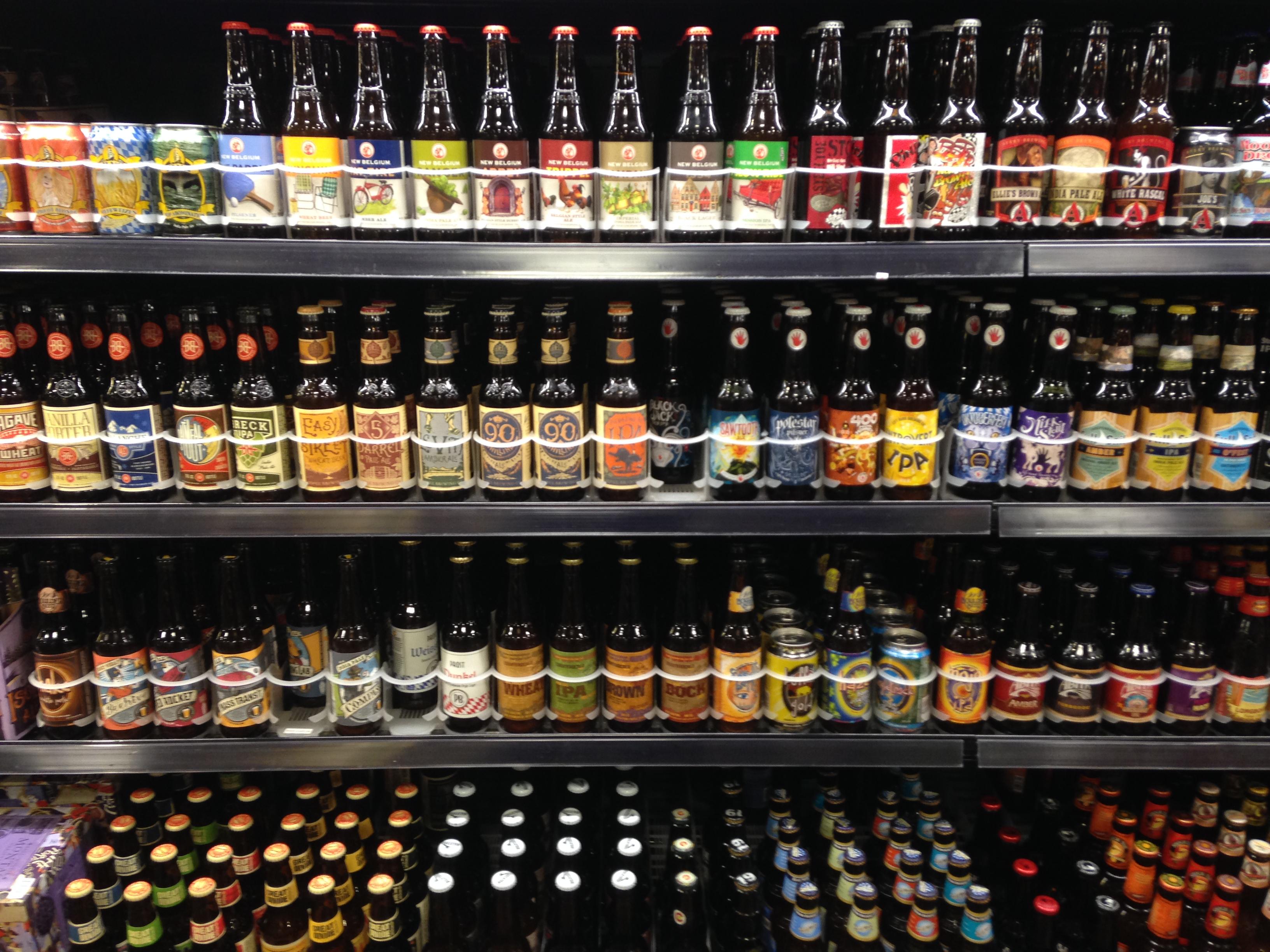 Photo: Beer case