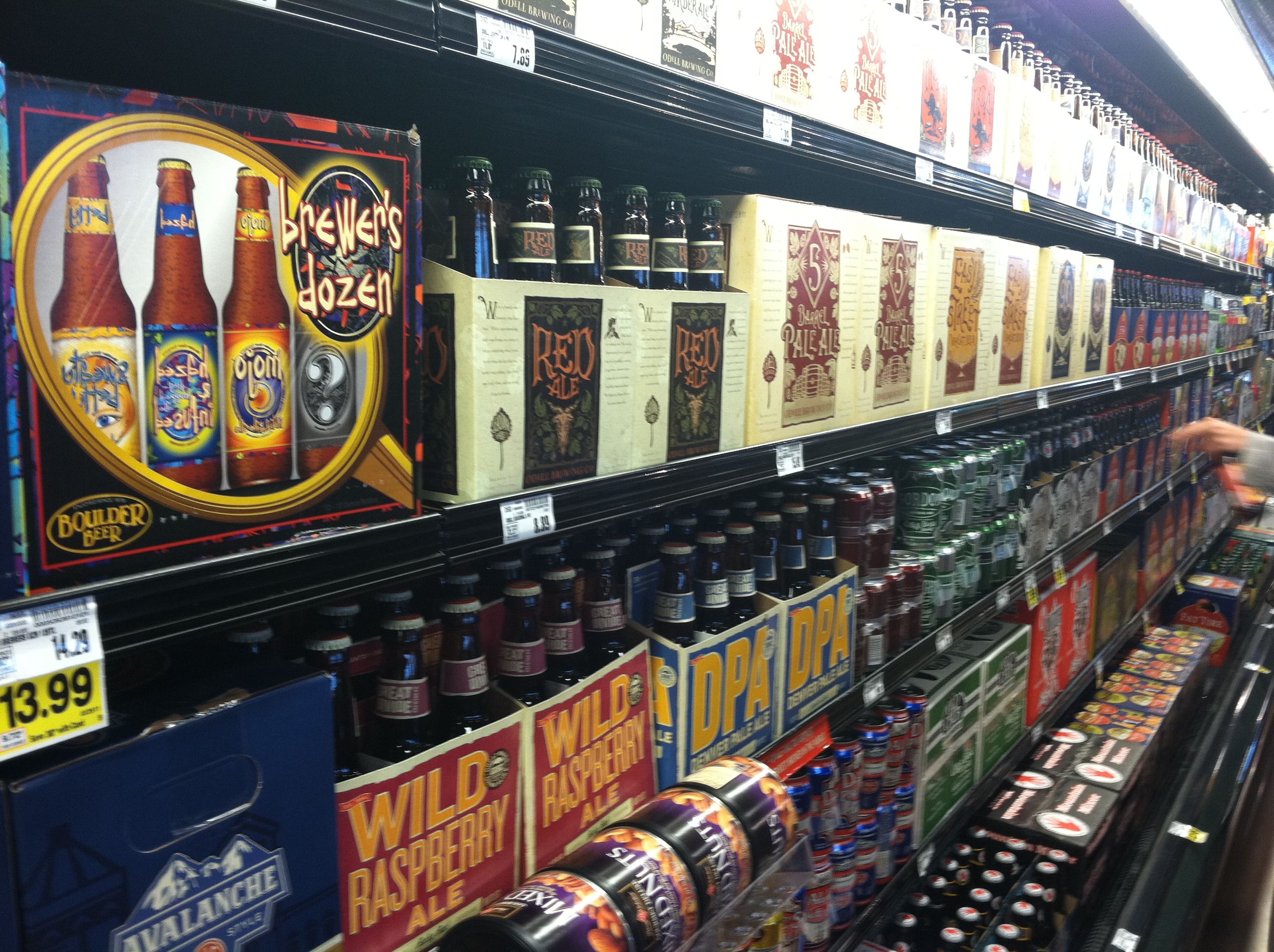 Photo: Beer for sale in King Soopers