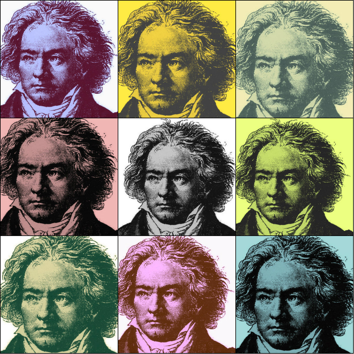 Photo: Beethoven 9 @ 9 collage
