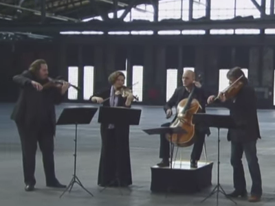 Photo: Artemis Quartet plays Beethoven thumbnail