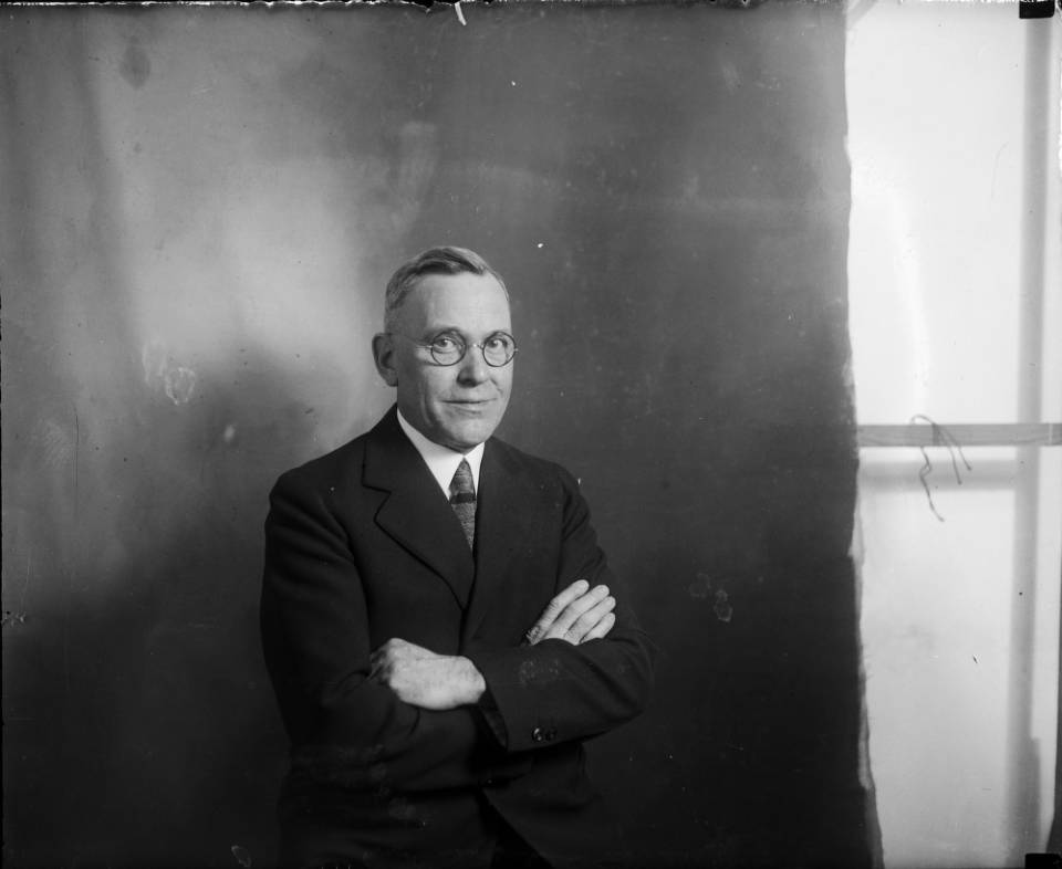 Photo: Denver mayor Benjamin Stapleton (1930)