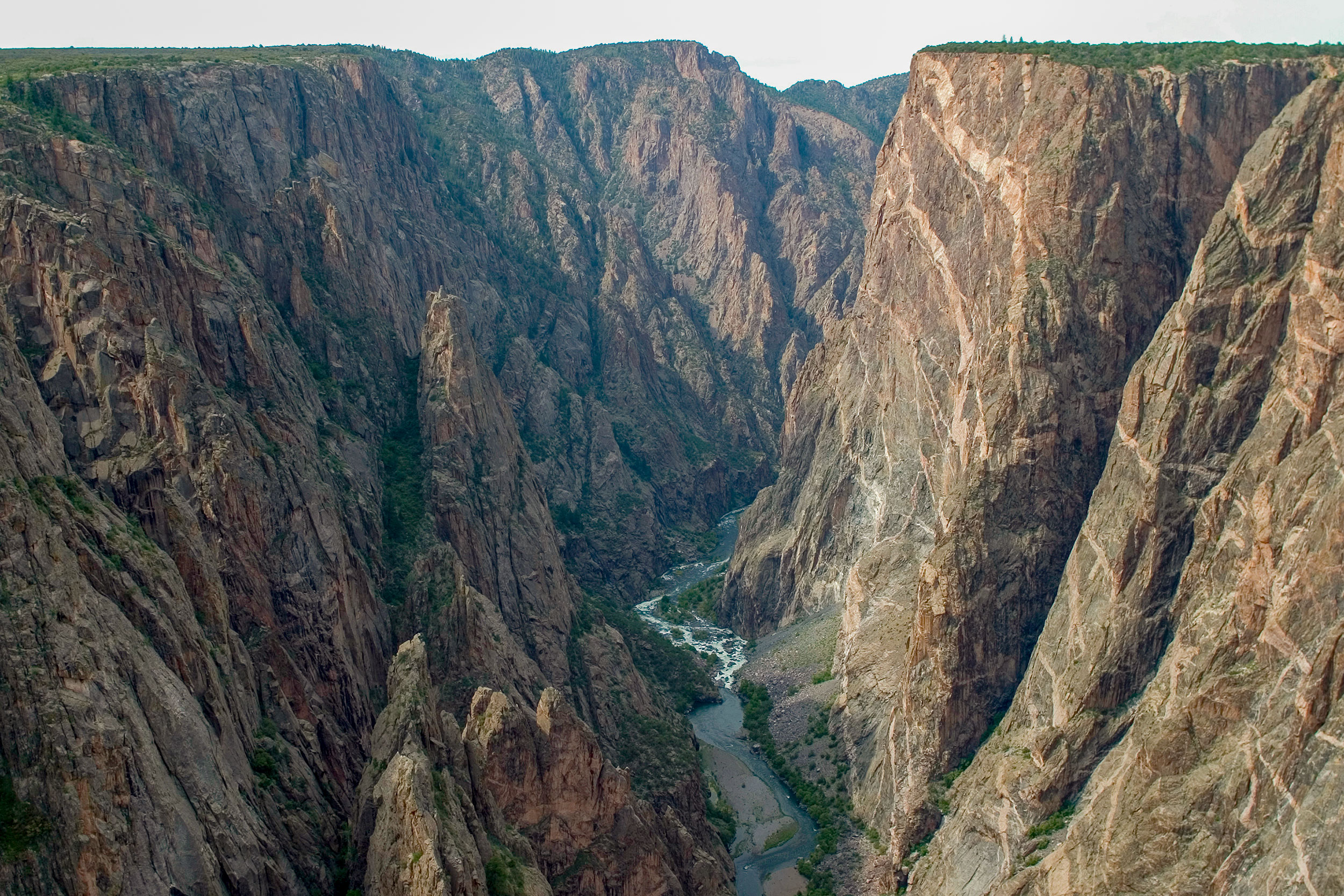 Photo: Black Canyon Of The Gunnison NP | Painted Wall - NPS