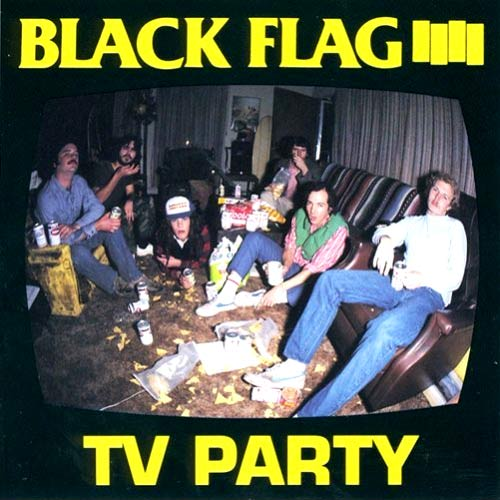Photo: Black Flag 'TV Party' EP