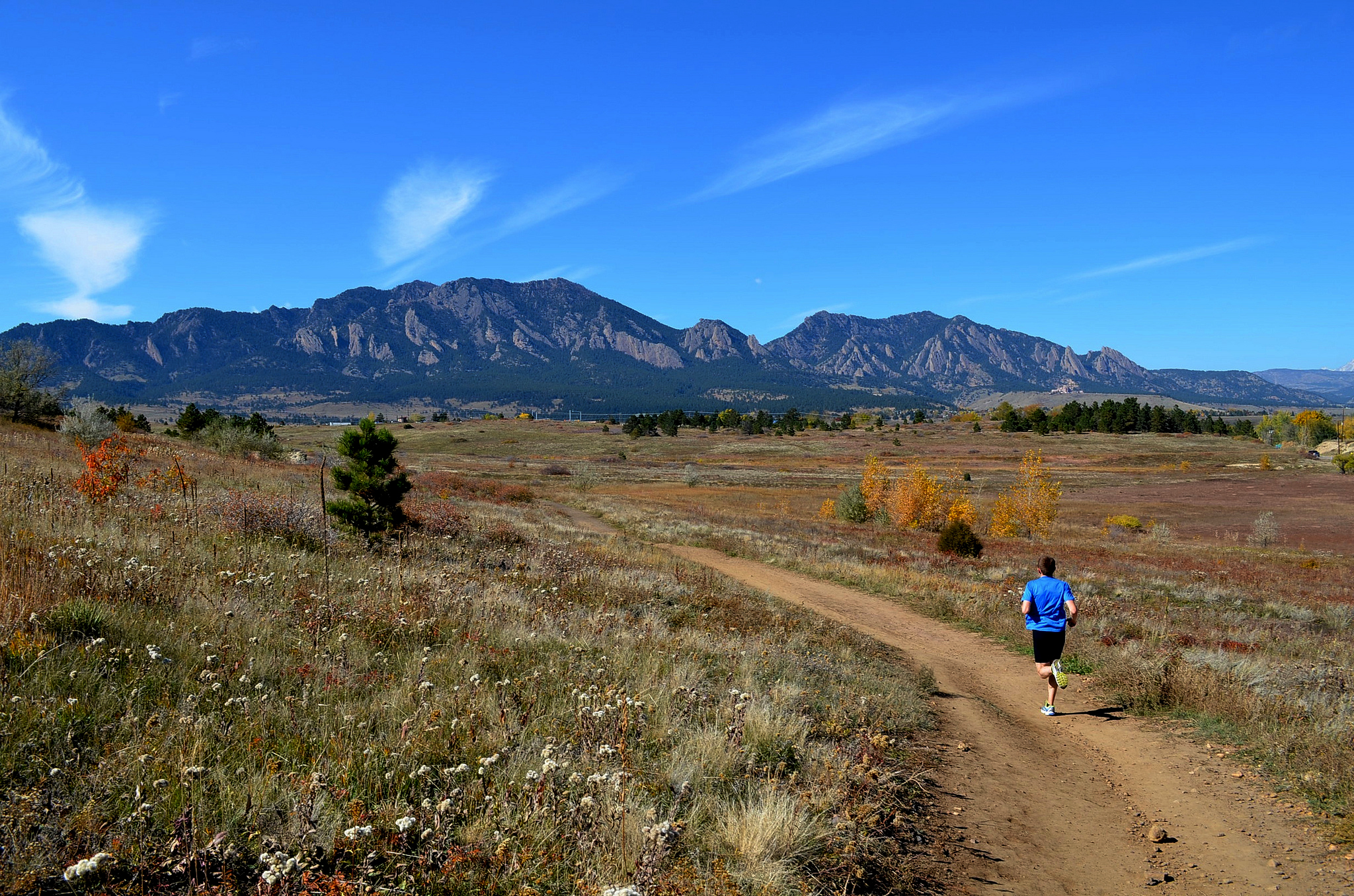 Photo: Trail Runner, Boulder Flatirons (Flickr/CC)