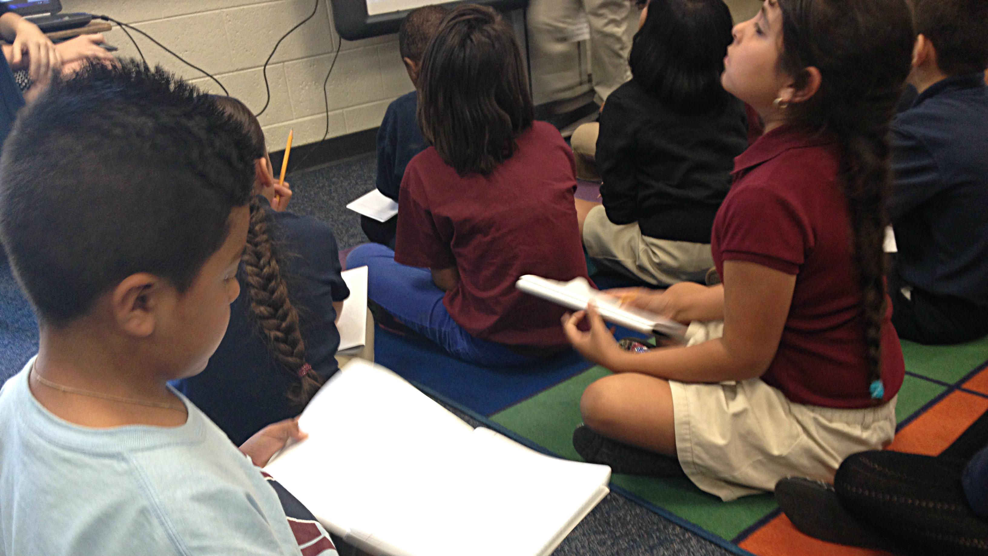 Photo: Classroom (McGlone Elementary, 4th grade)