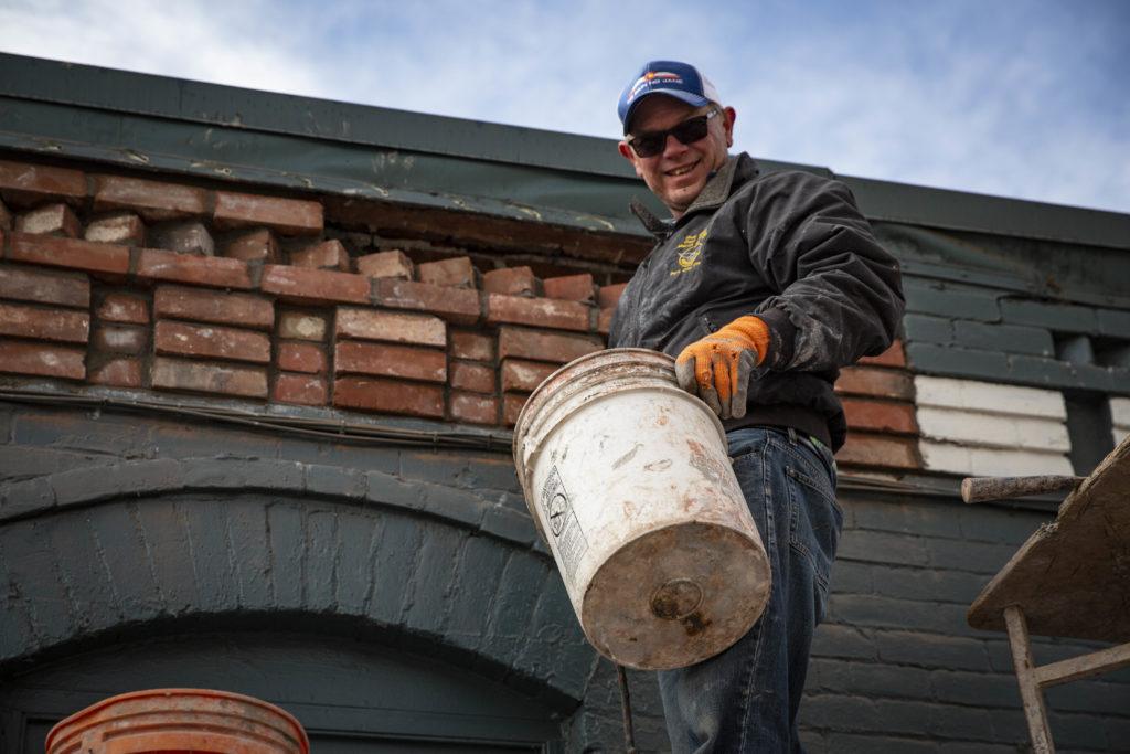 Denver Brick Bricklayer Gary Holt