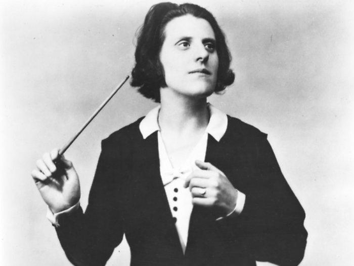 Photo: Antonia Brico, conductor