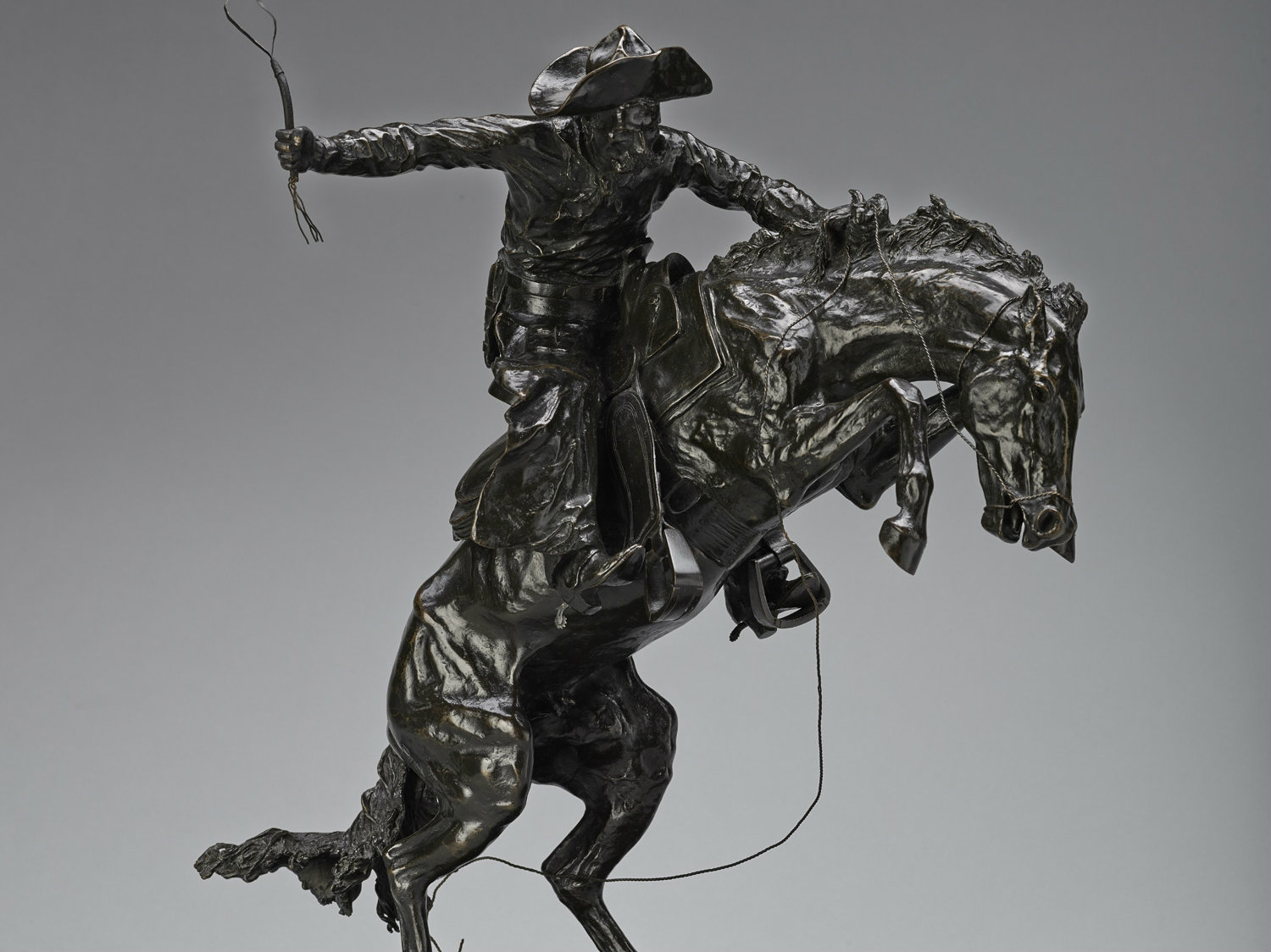 Photo: The Broncho Buster by Frederic Remington