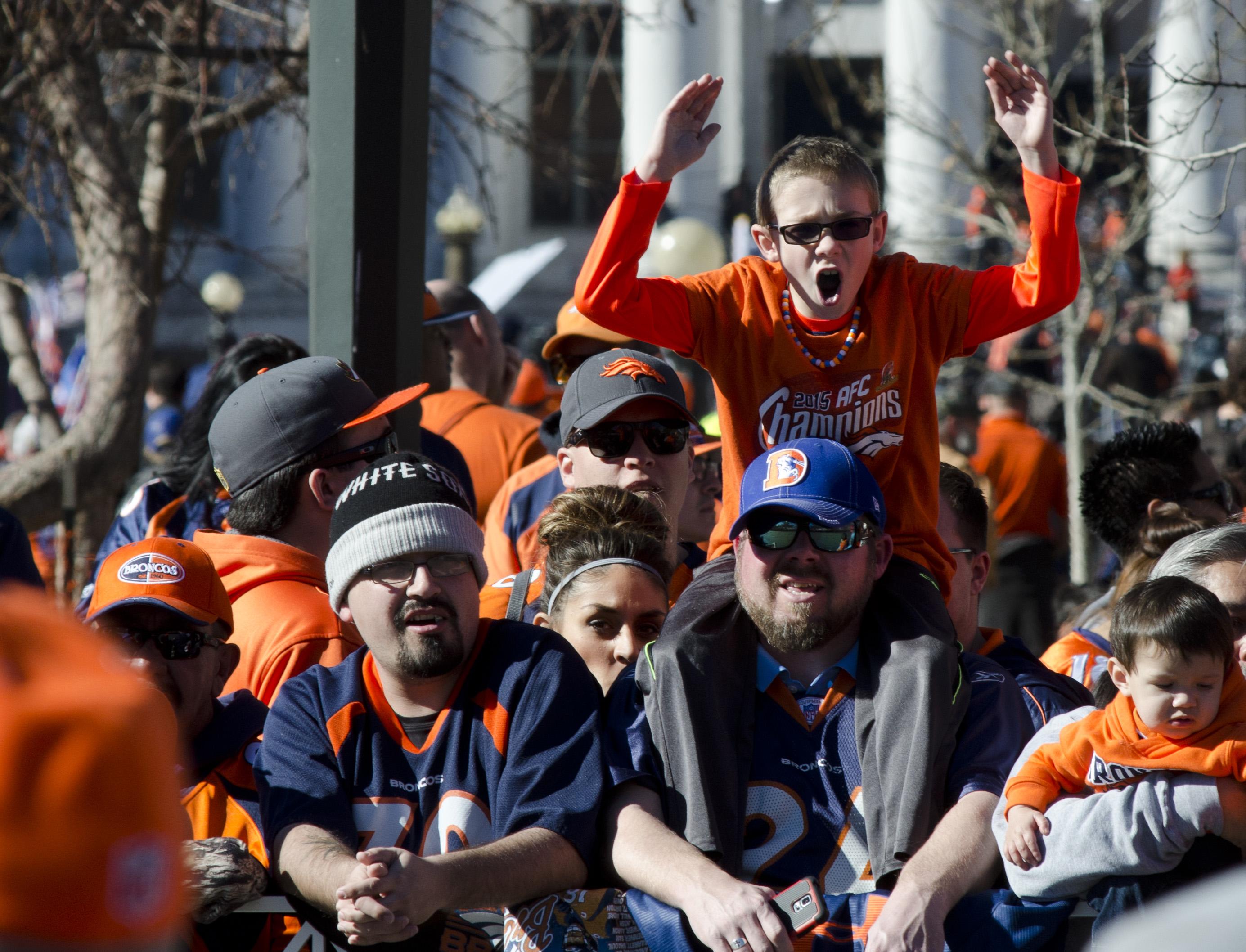 Photo: Broncos parade 3 | Young fan
