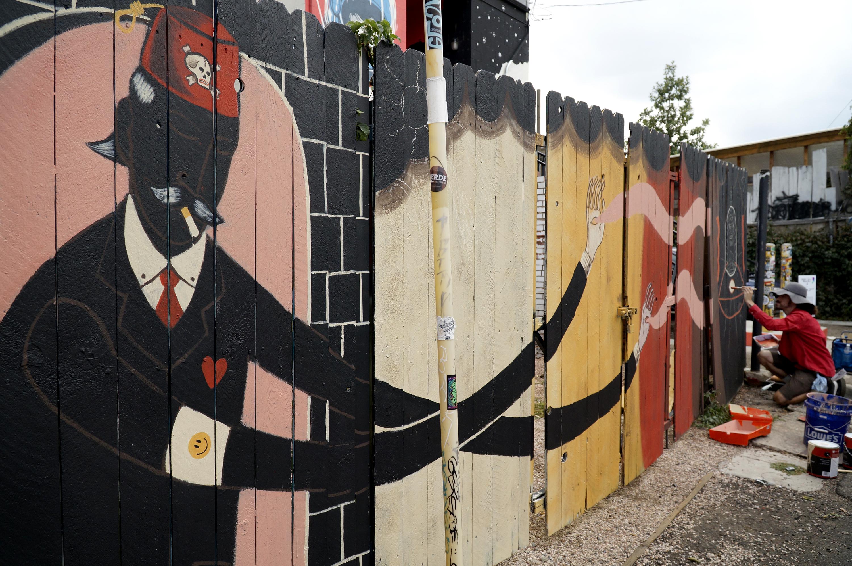 Photo: Crush Walls Urban Art RiNo Denver Bzurk 2