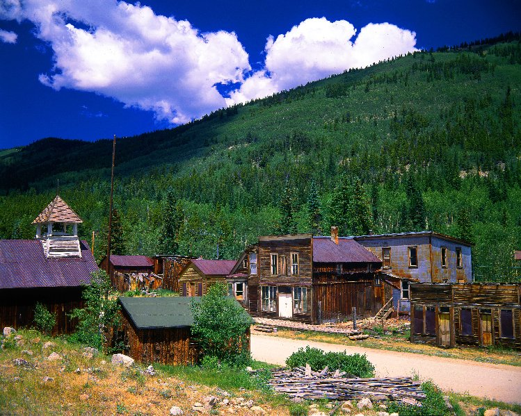 Photo: St Elmo Ghost Town