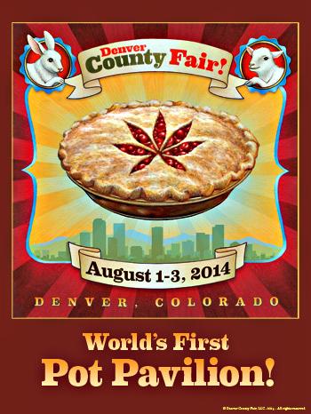 Photo: Denver County Fair Pot Pavilion Poster