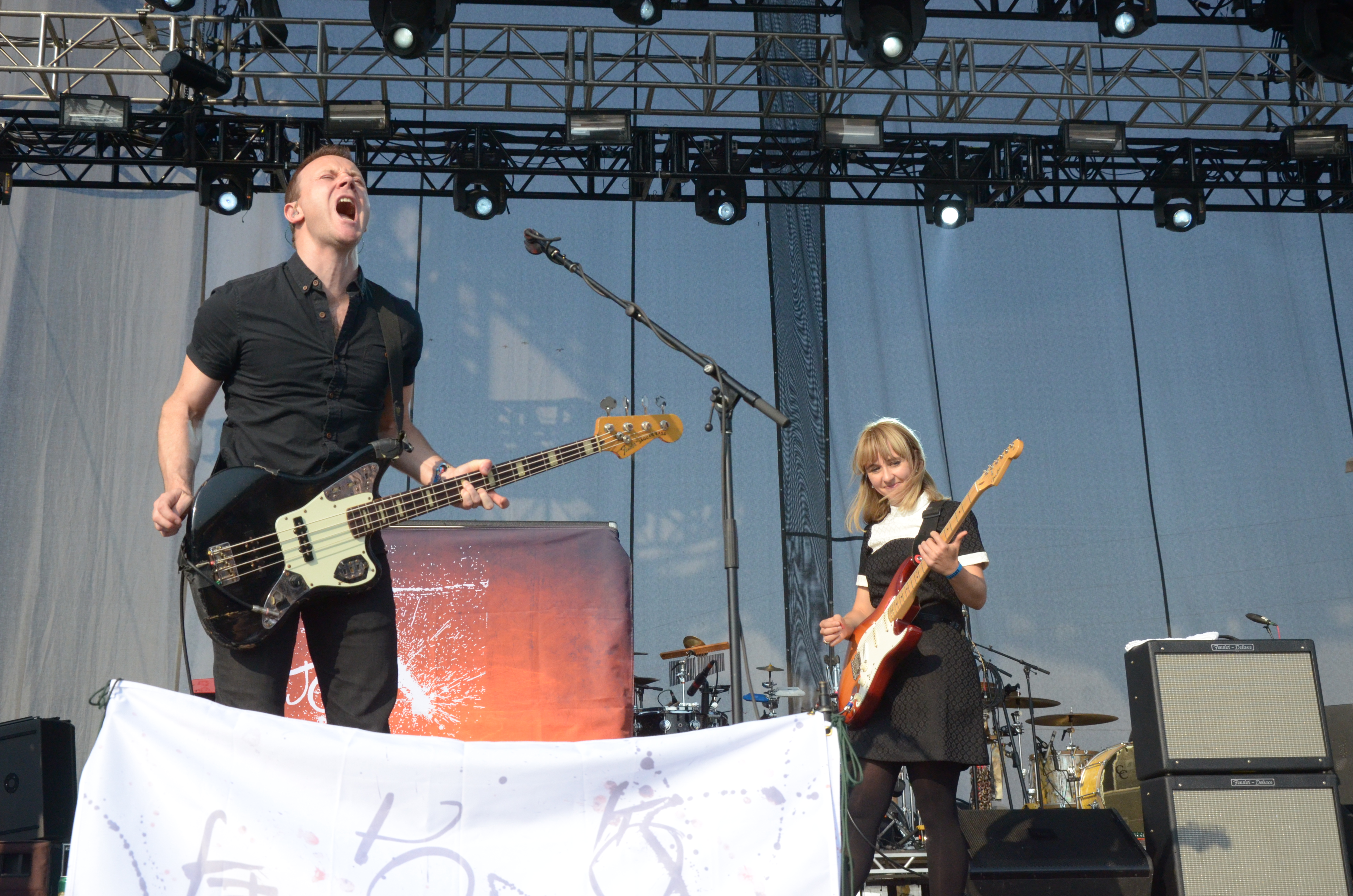 Photo: The Joy Formidable at Riot Fest 2015 2