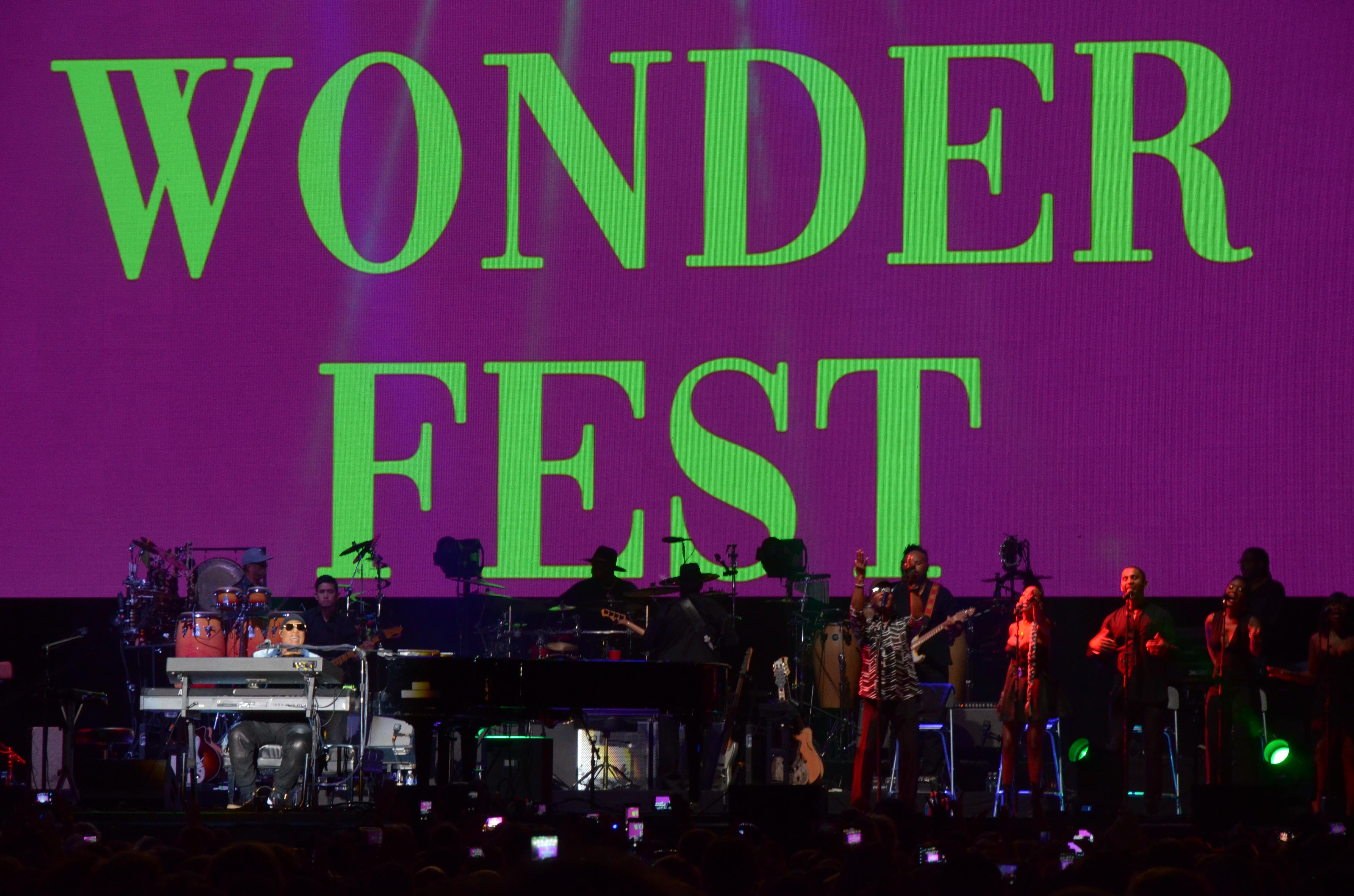Photo: Grandoozy 2018 Stevie Wonder